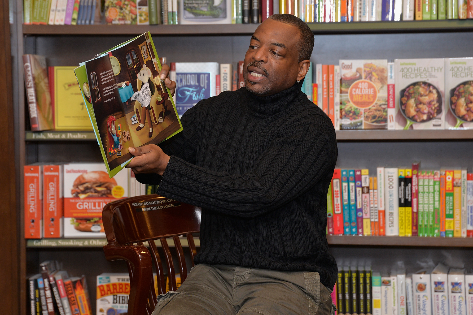 LeVar Burton Launches Book Club on Reading App, Fable, With Titles by James Baldwin, Octavia Butler, and Jesmyn Ward