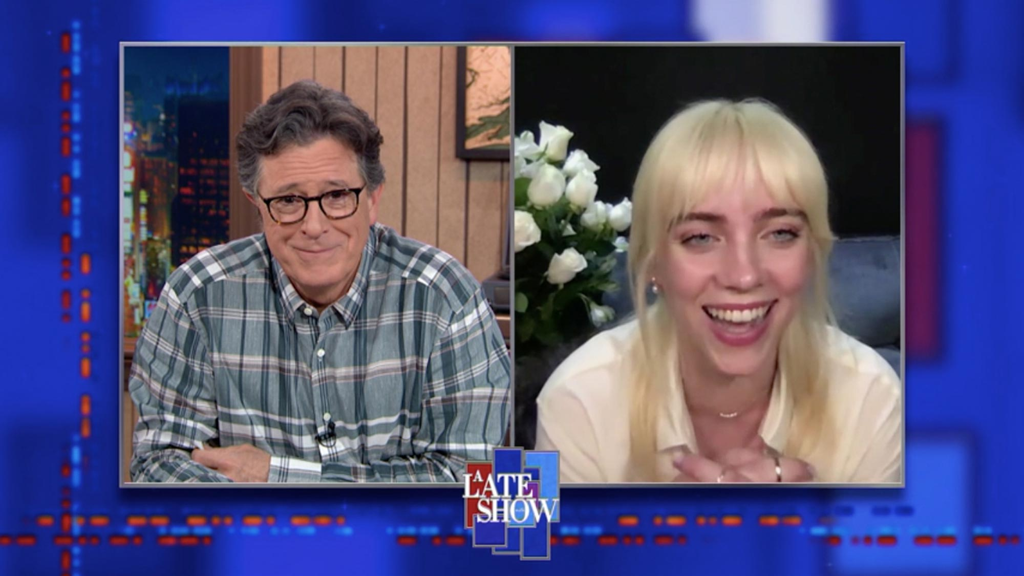 The Late Show with Stephen Colbert - Billie Eilish