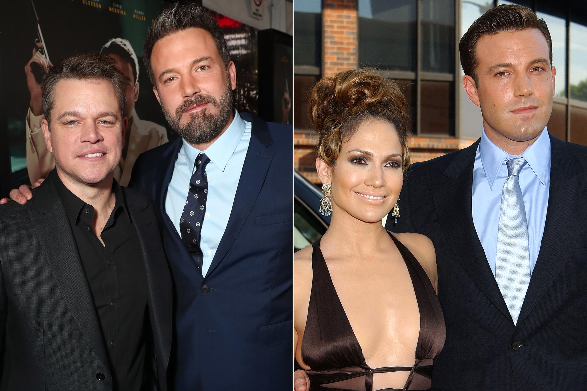 Matt Damon, Ben Affleck Jennifer Lopez