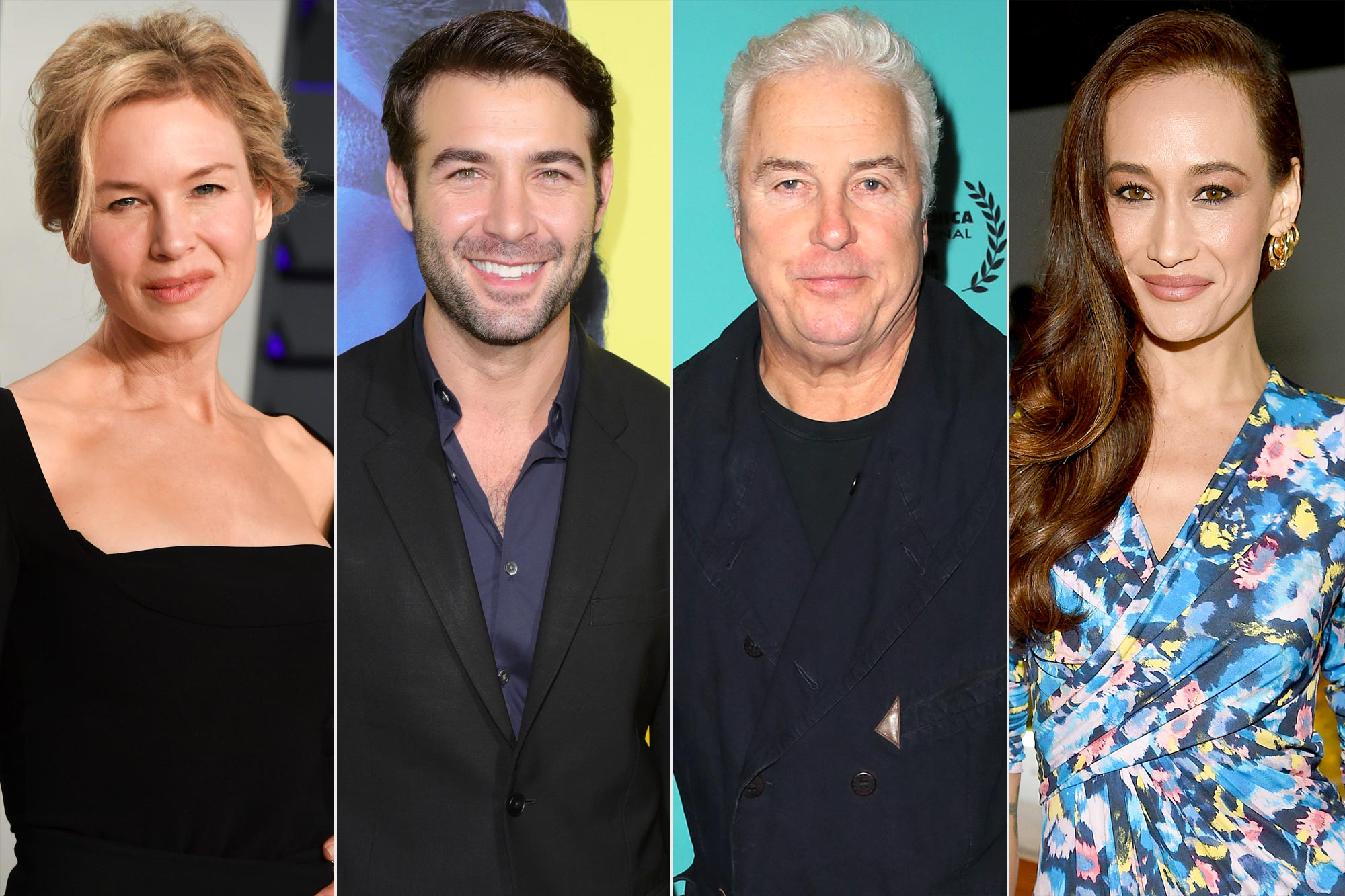 TV Upfronts Renee Zellweger, James Wolk, Billy Petersen, and Maggie Q