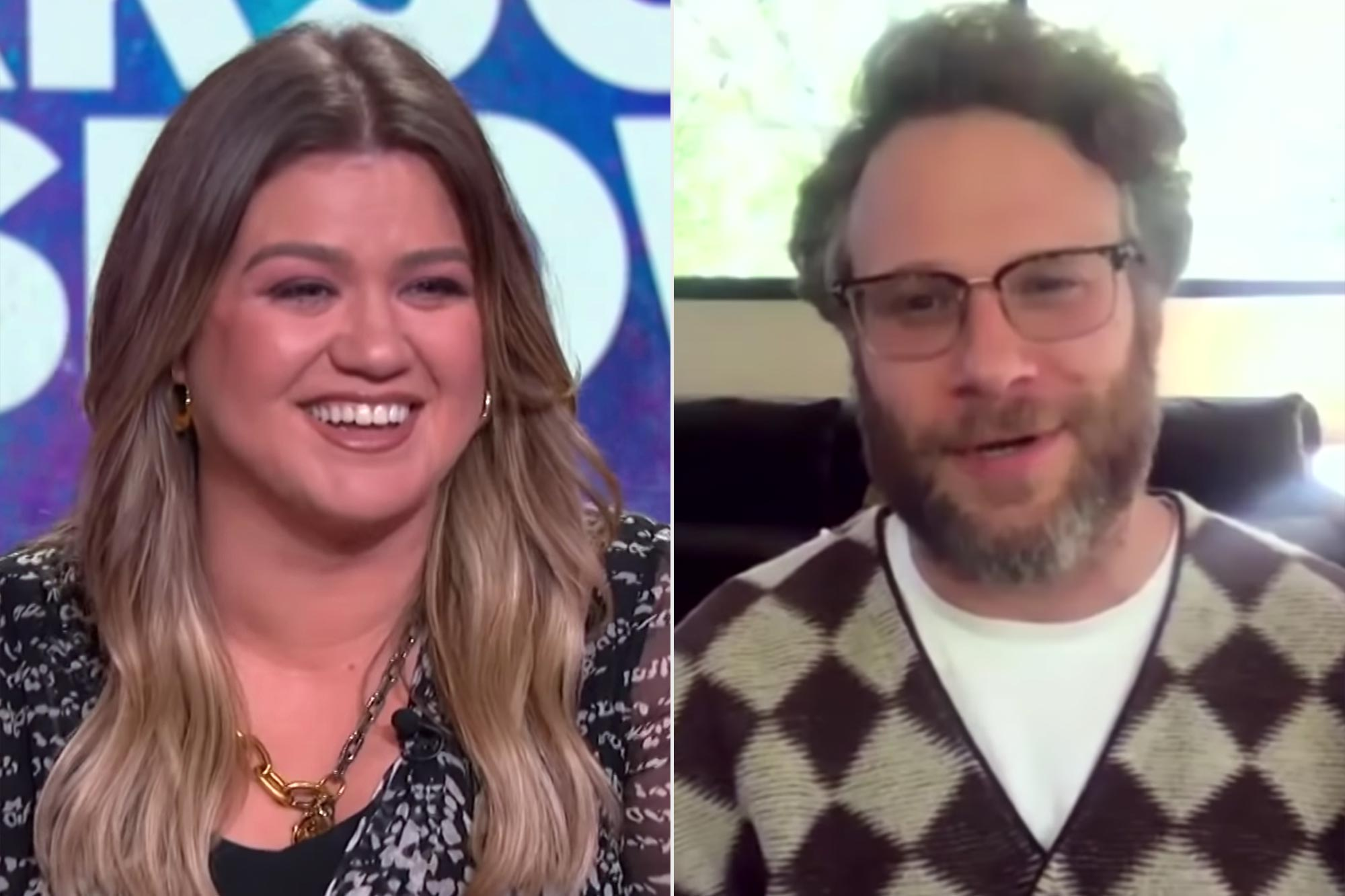 Kelly Clarkson and Seth Rogen Seth Rogen Wrote The Iconic 'Ahh, Kelly Clarkson!' Line From 'The 40-Year-Old Virgin'
