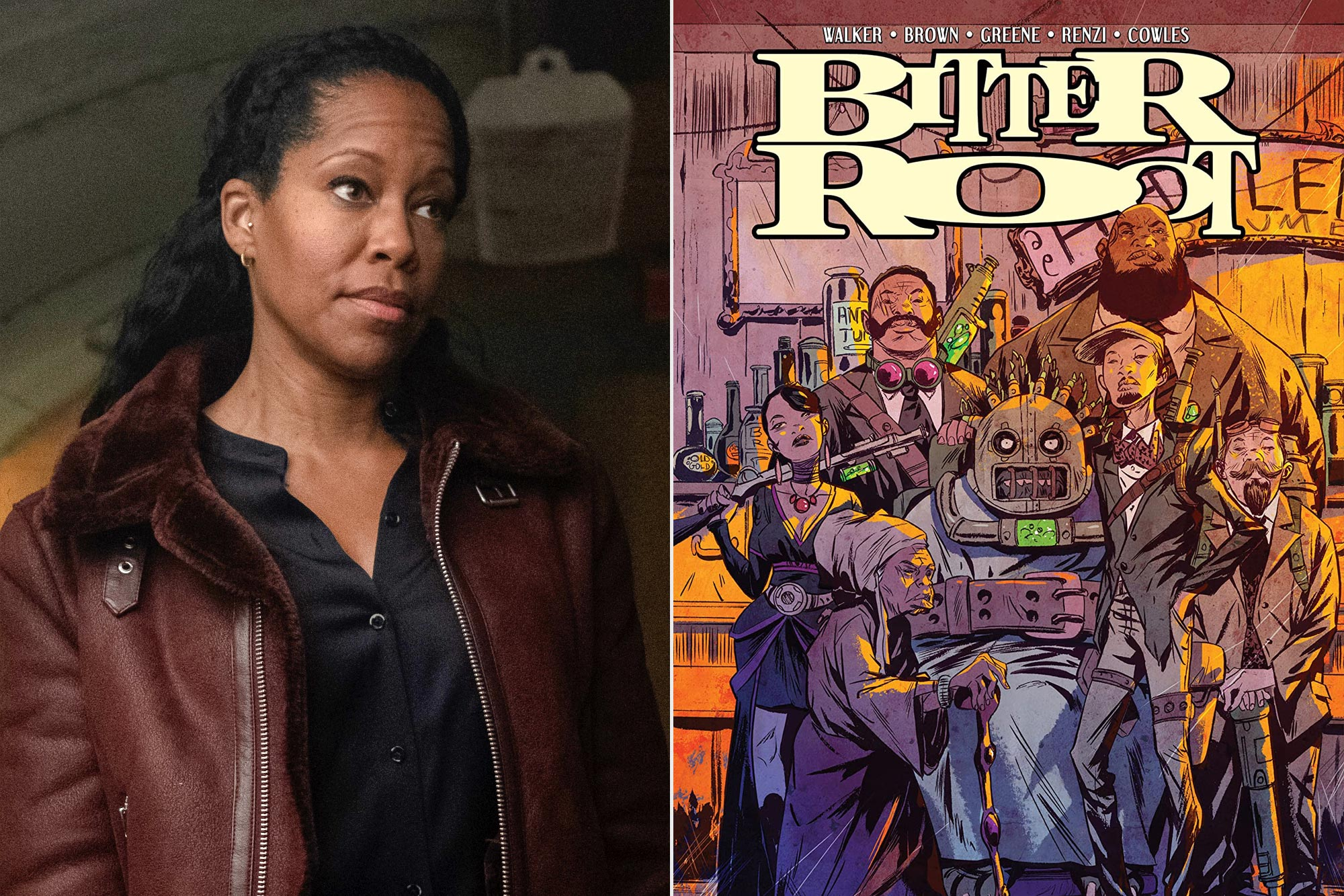Regina King; Bitter Root