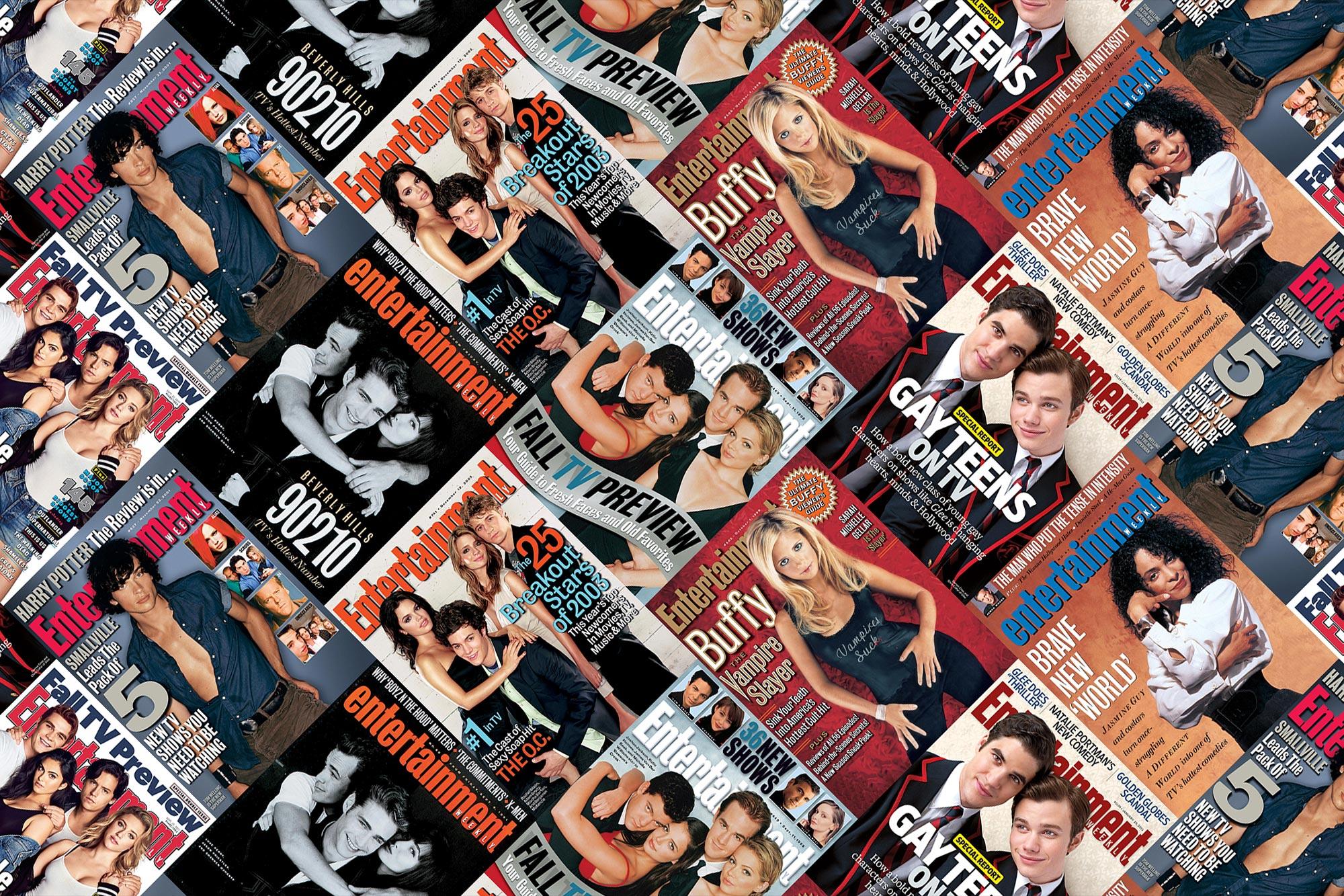 Teen TV covers