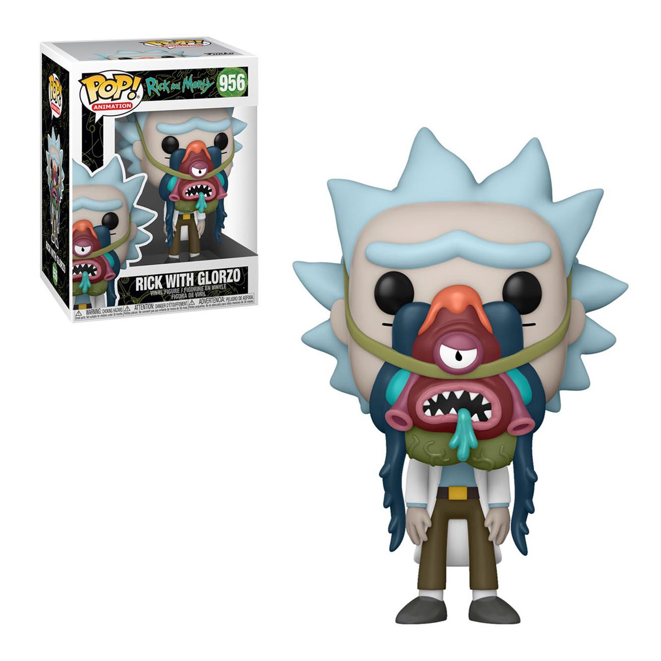 rick and morty funko pop