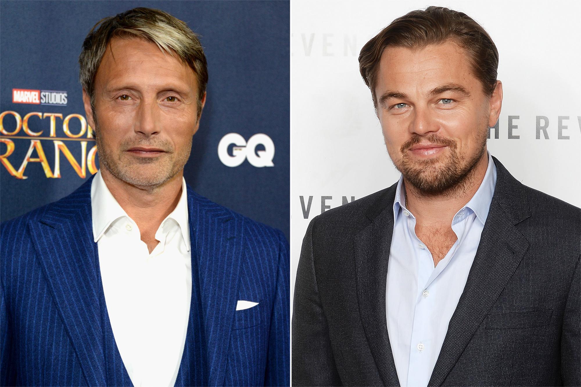 Mads Mikkelsen, Leonardo DiCaprio