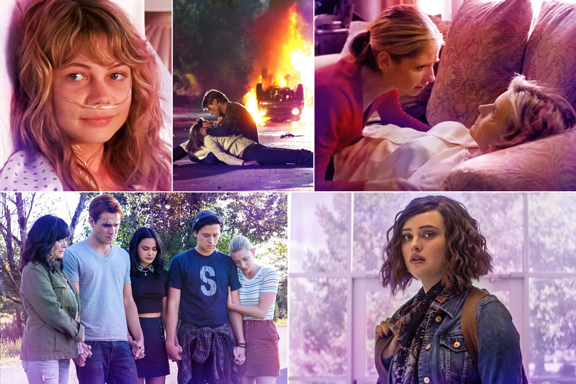 15 devastating deaths from teen TV