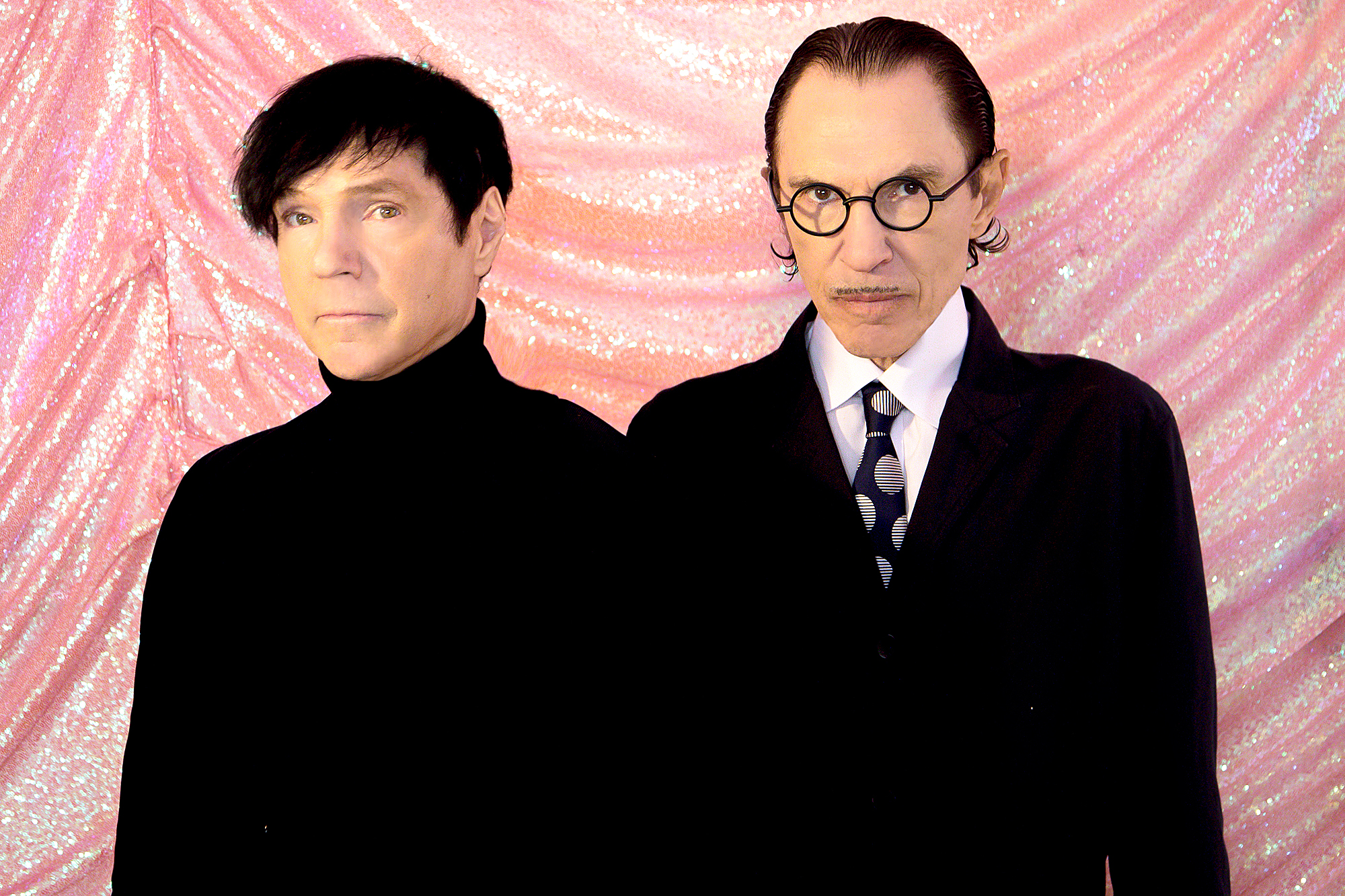 Sparks members Russell and Ron Mael