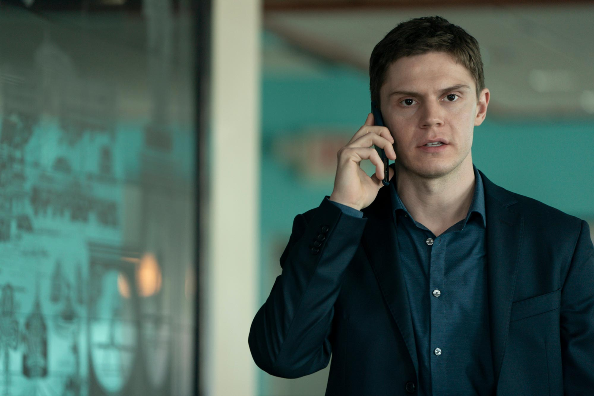 Evan Peters discusses that Mare of Easttown shocker | EW.com
