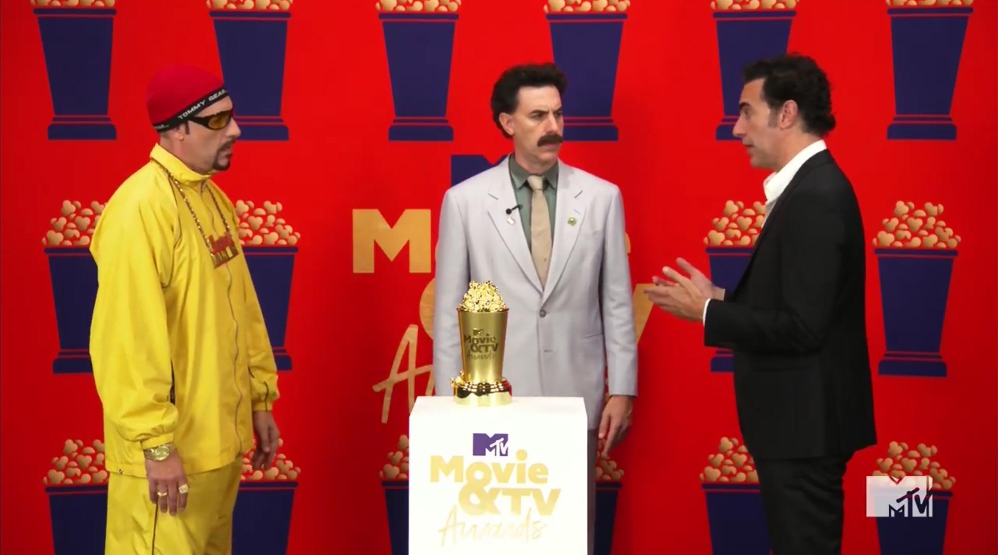 MTV Movie and TV Awards Ali G, Borat, Sacha Baron Cohen