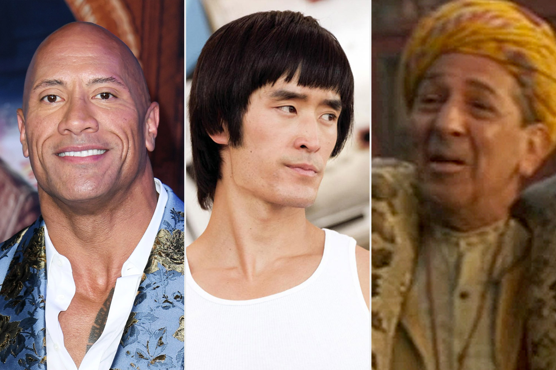 Dwayne Johnson, Bruce Lee in OUATIH and Pramesh Singhin Dumbo