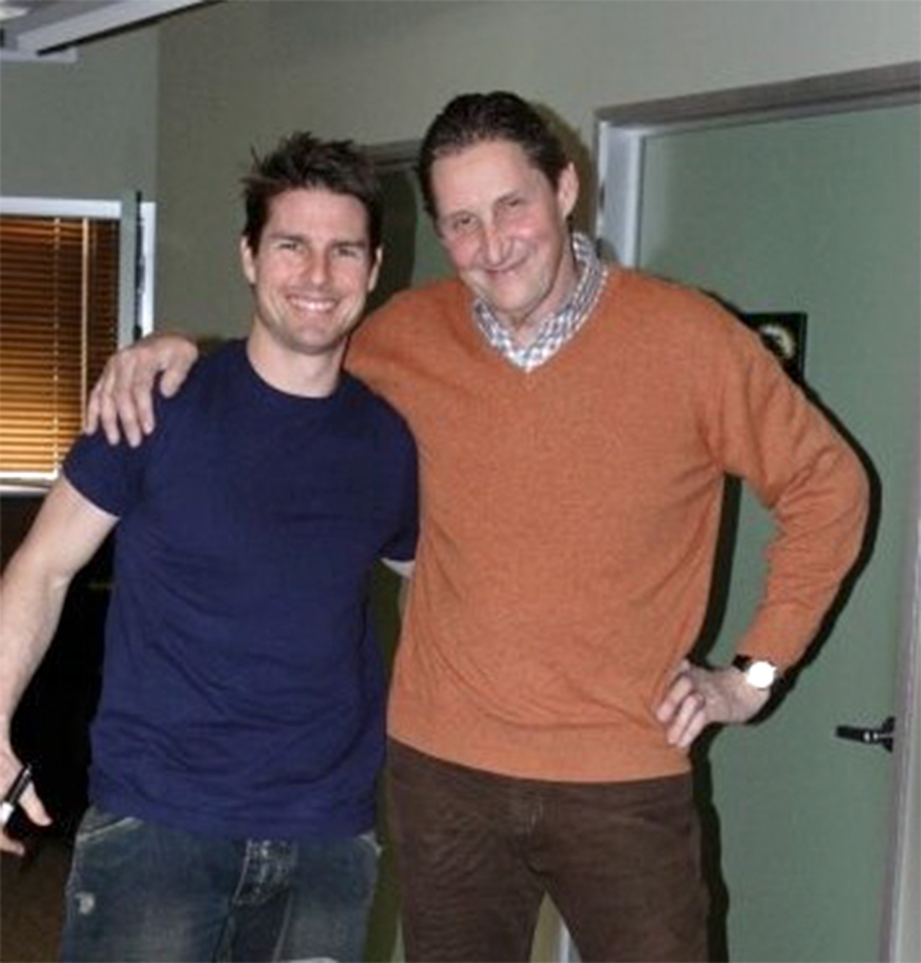 Tom Cruise and Benedict Coulter