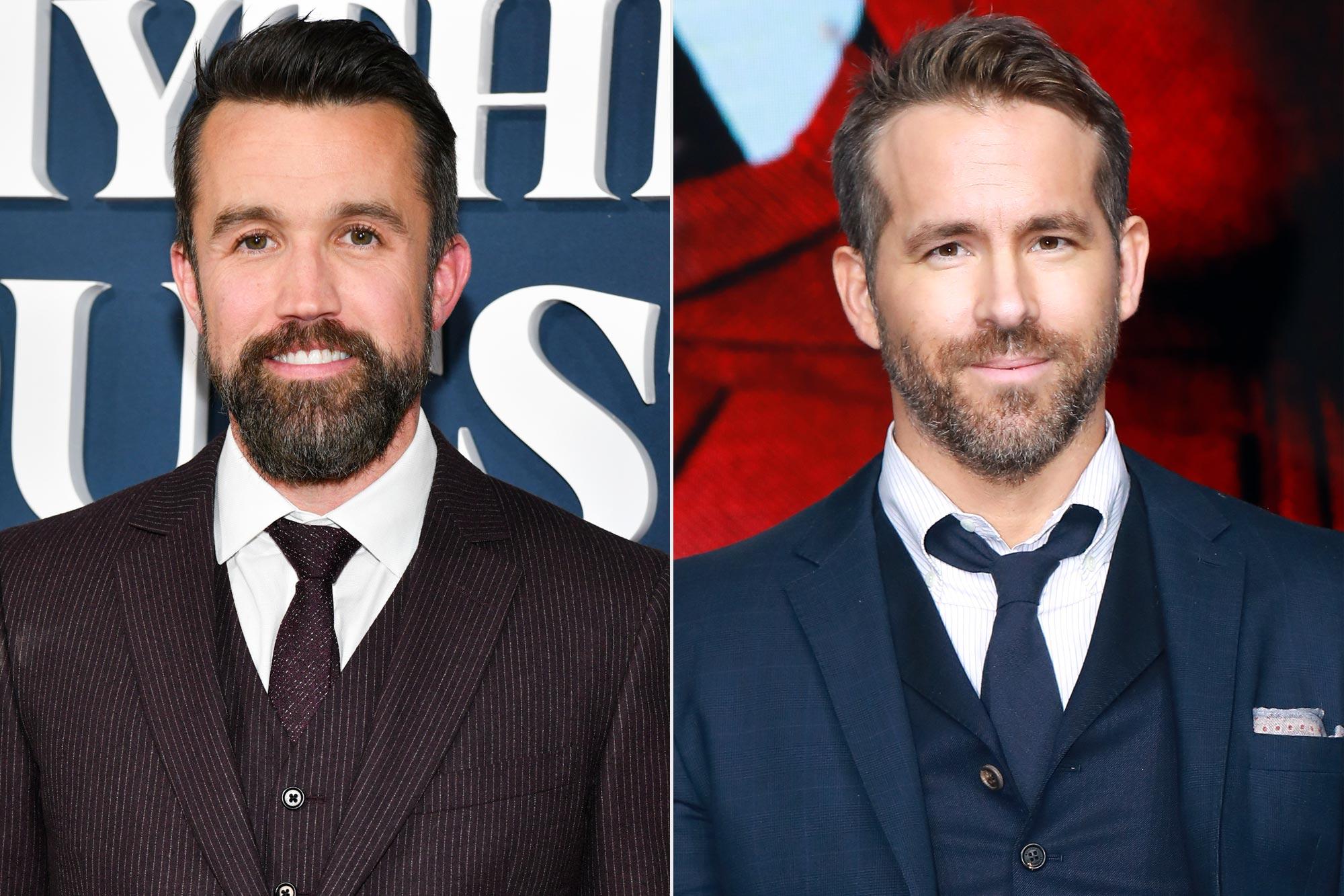 Rob McElhenney; Ryan Reynolds