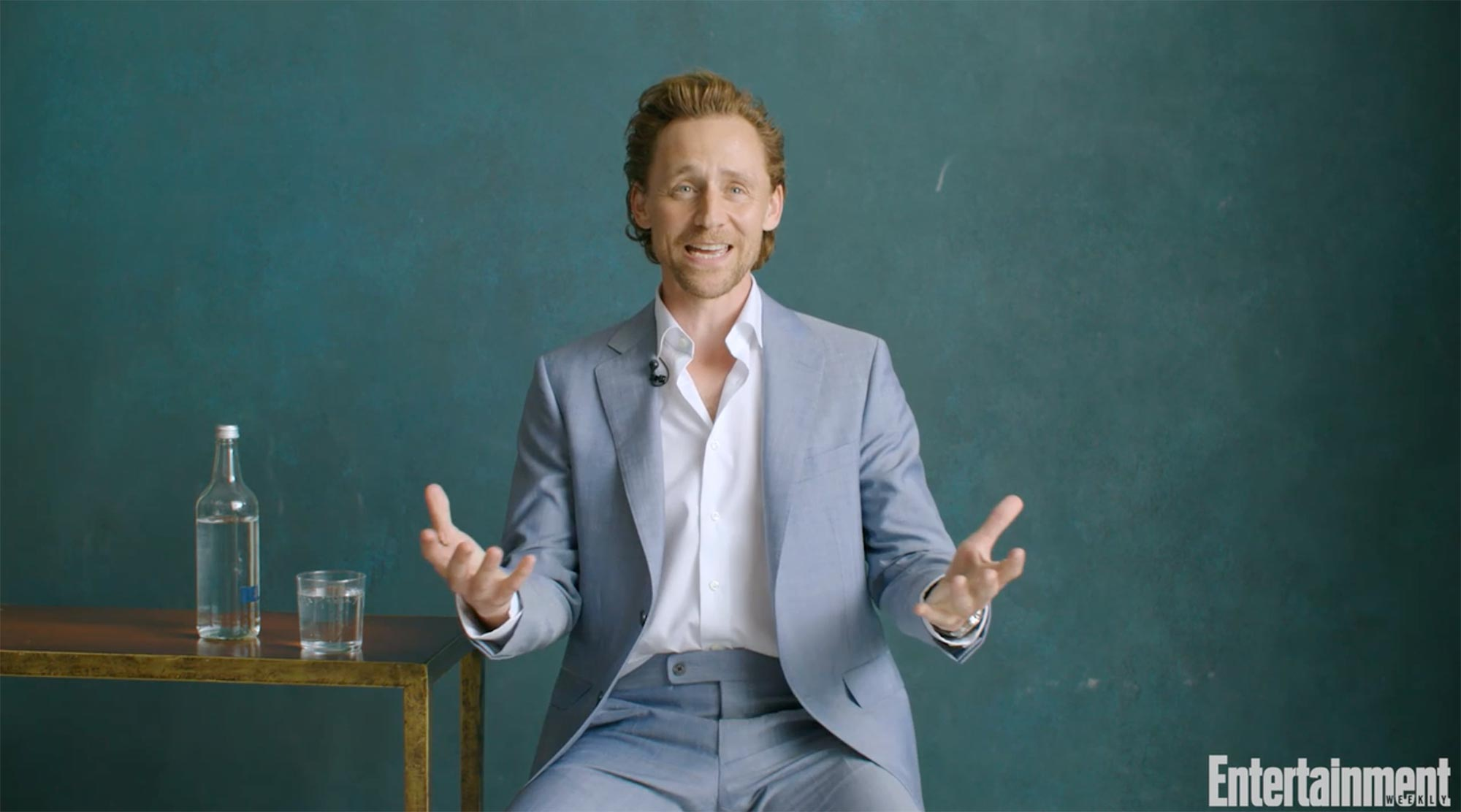 Tom Hiddleston talks about playing Loki for 10 years
