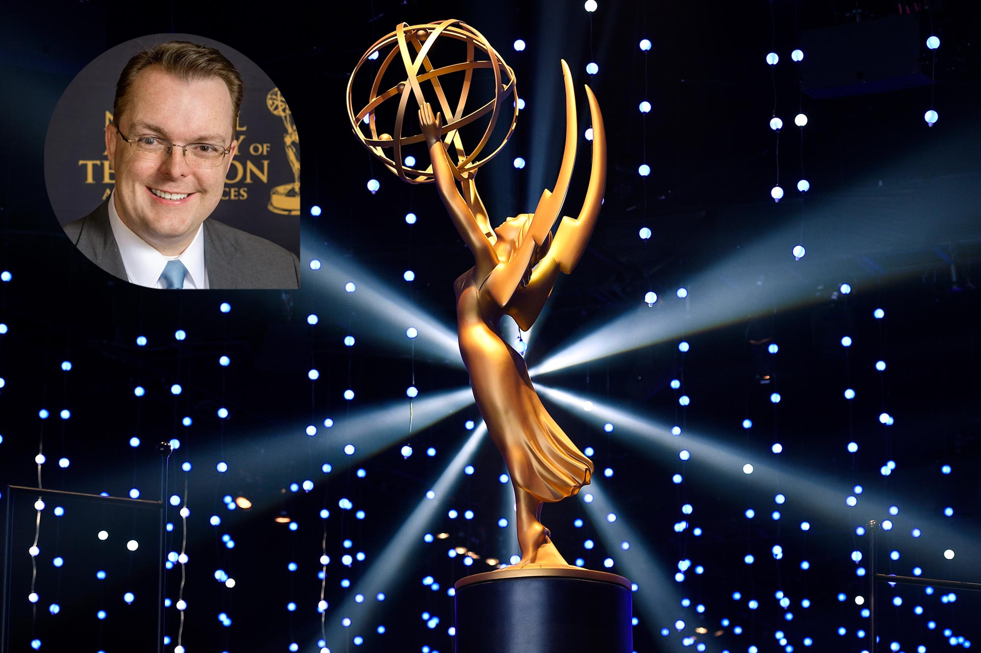 Adam Sharp; Emmy Awards