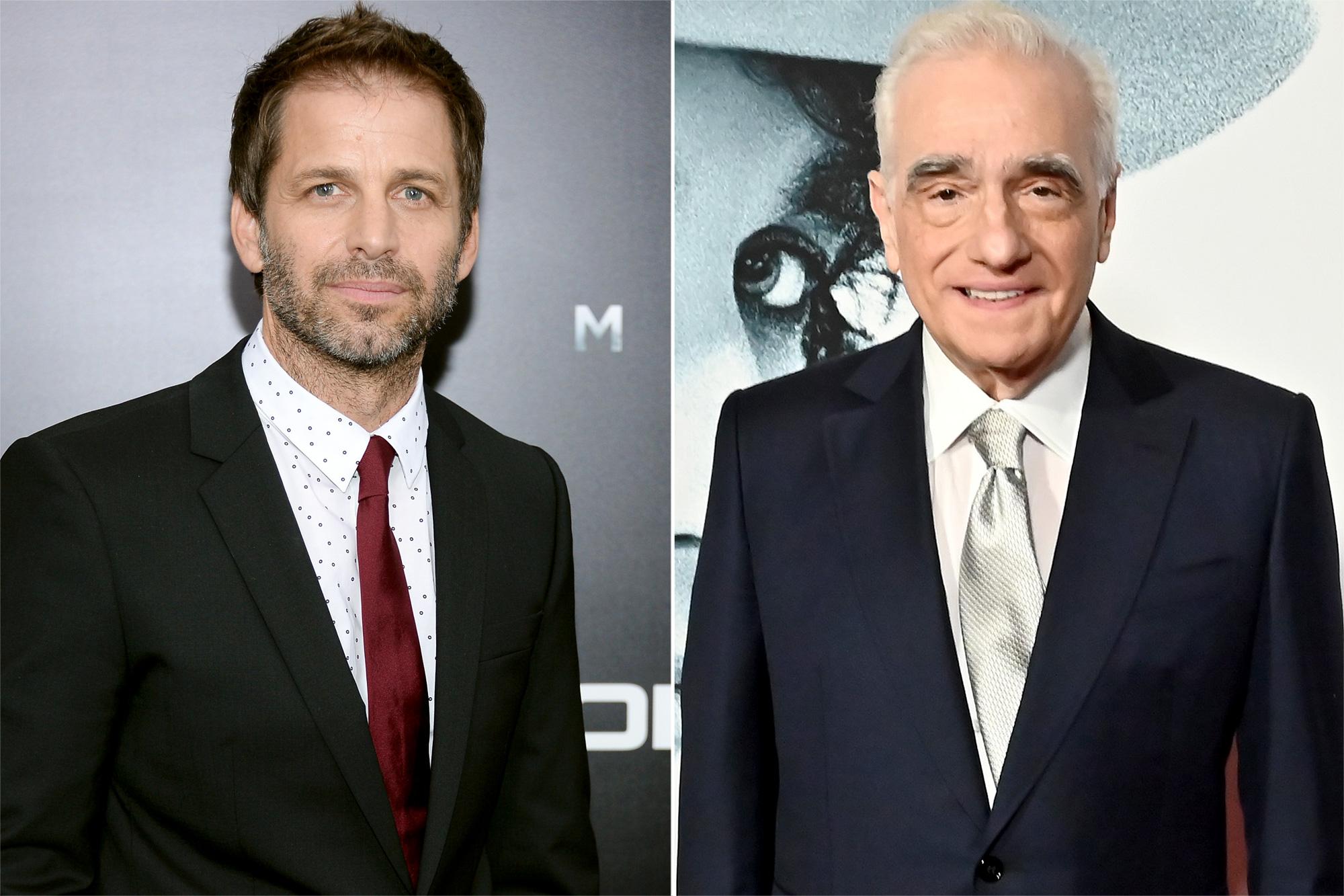 Zack Snyder, Martin Scorsese