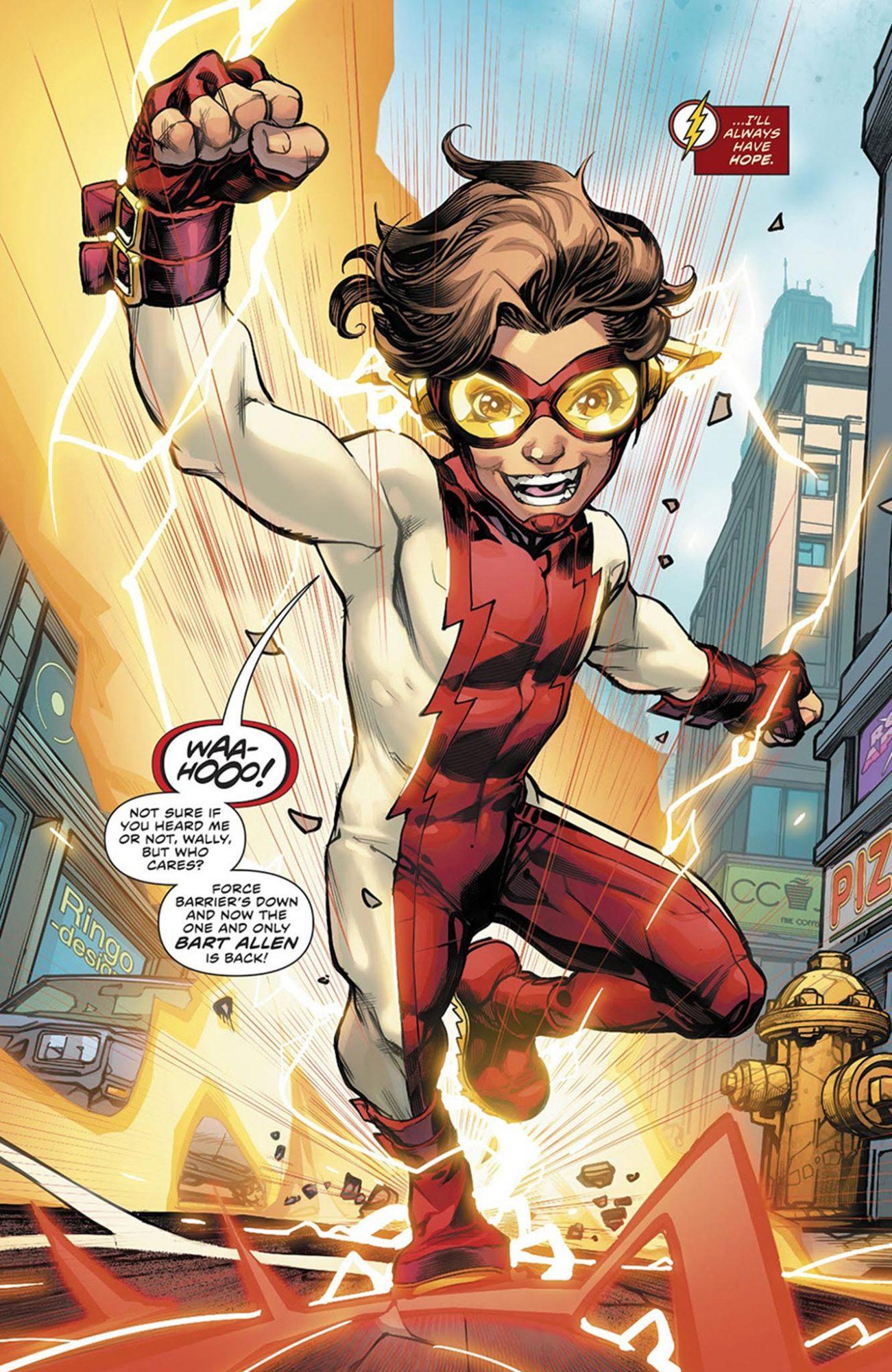 The Flash #50 Bart Allen aka Impulse
