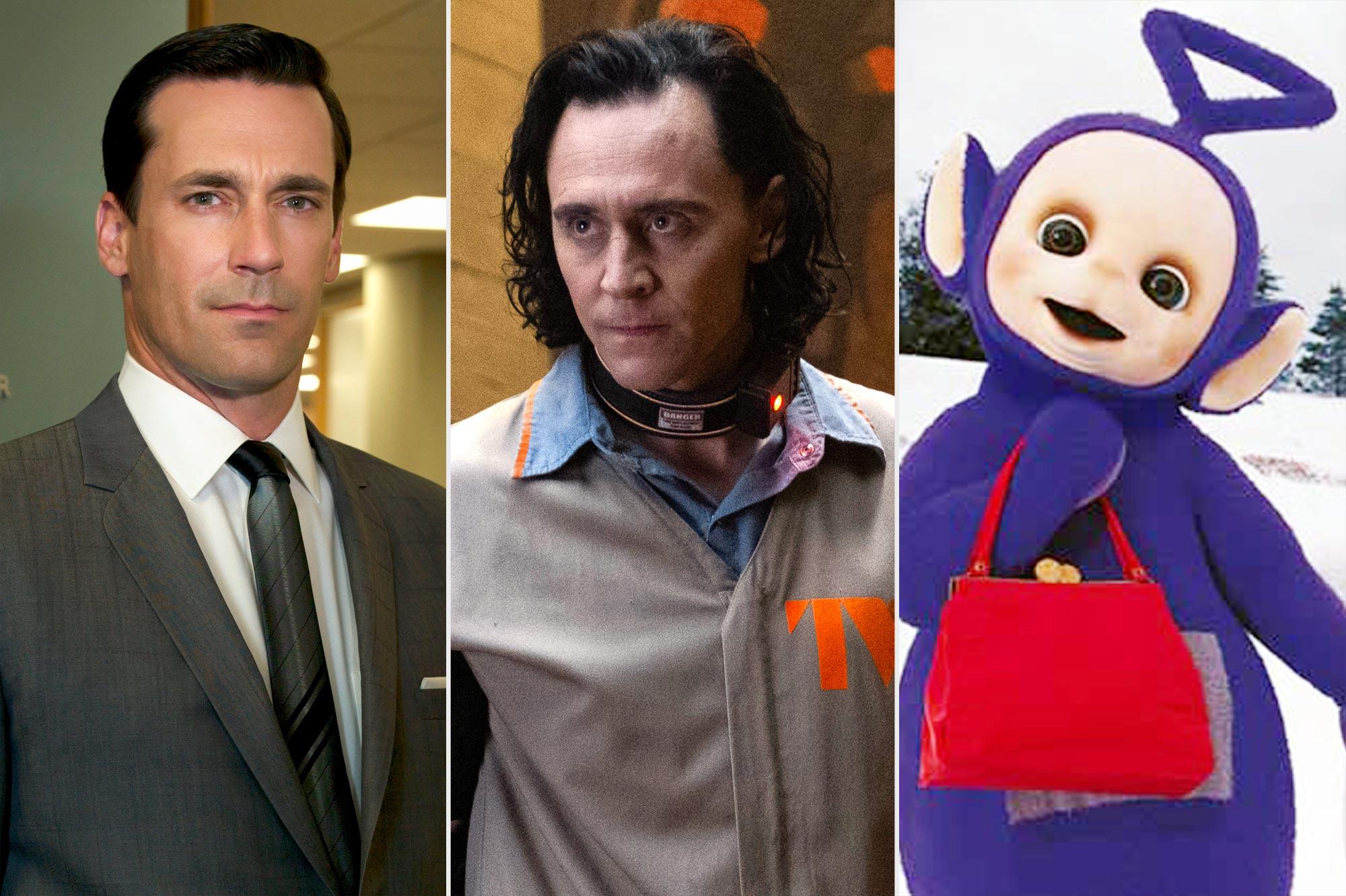 Loki Influences - Mad Men, Loki, Teletubbies