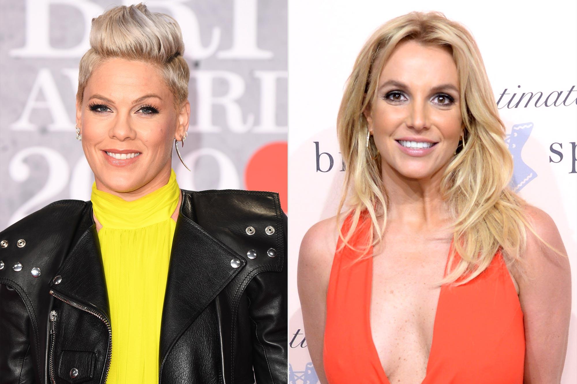 Pink; Britney Spears