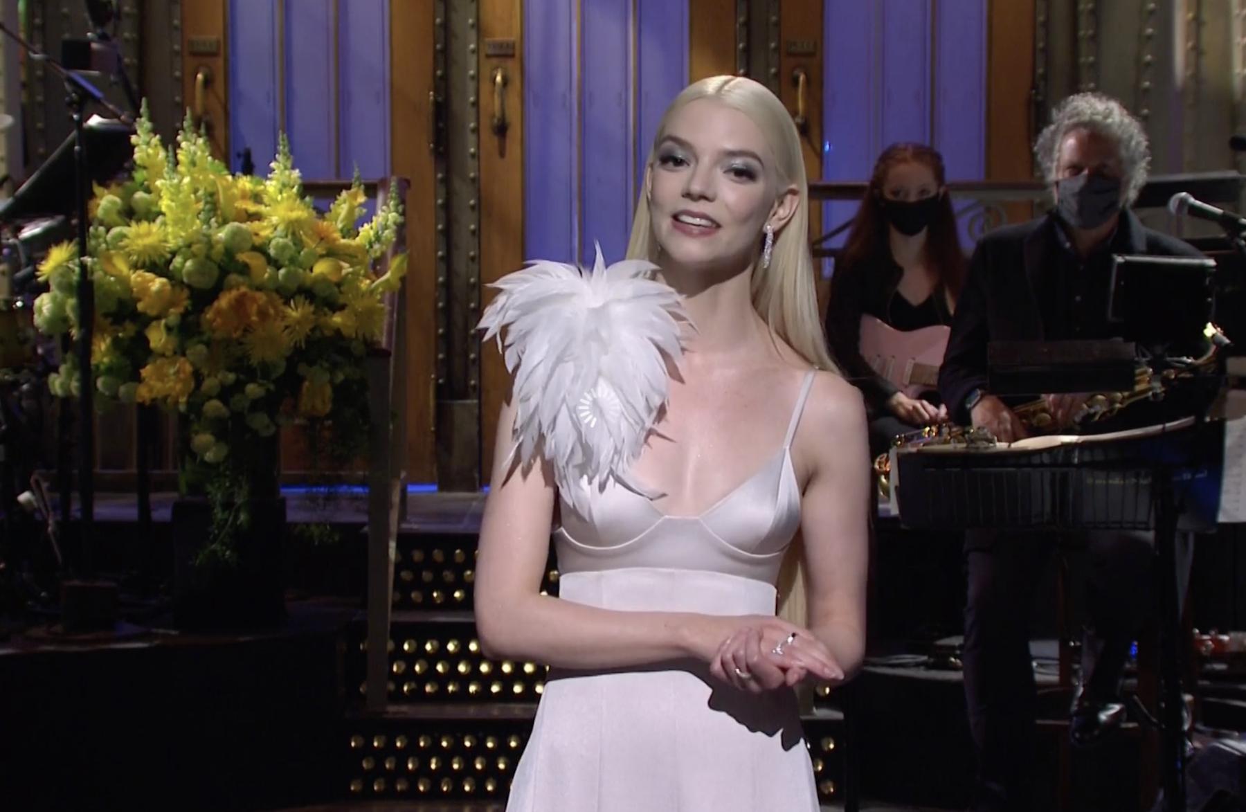 Anya Taylor-Joy hosts 'Saturday Night Live'