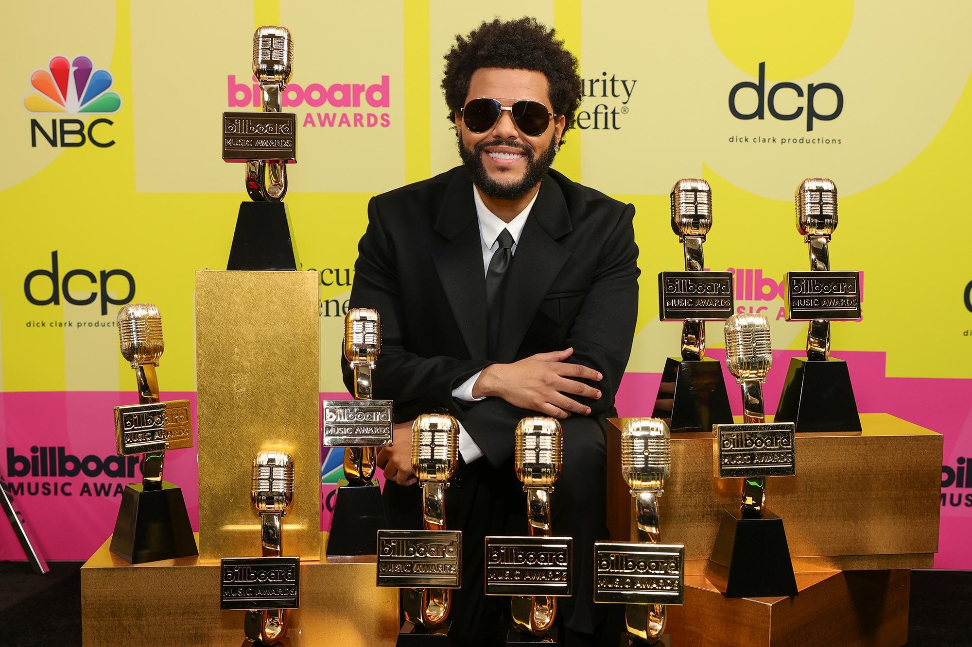 The Weeknd Billboard Music Awards