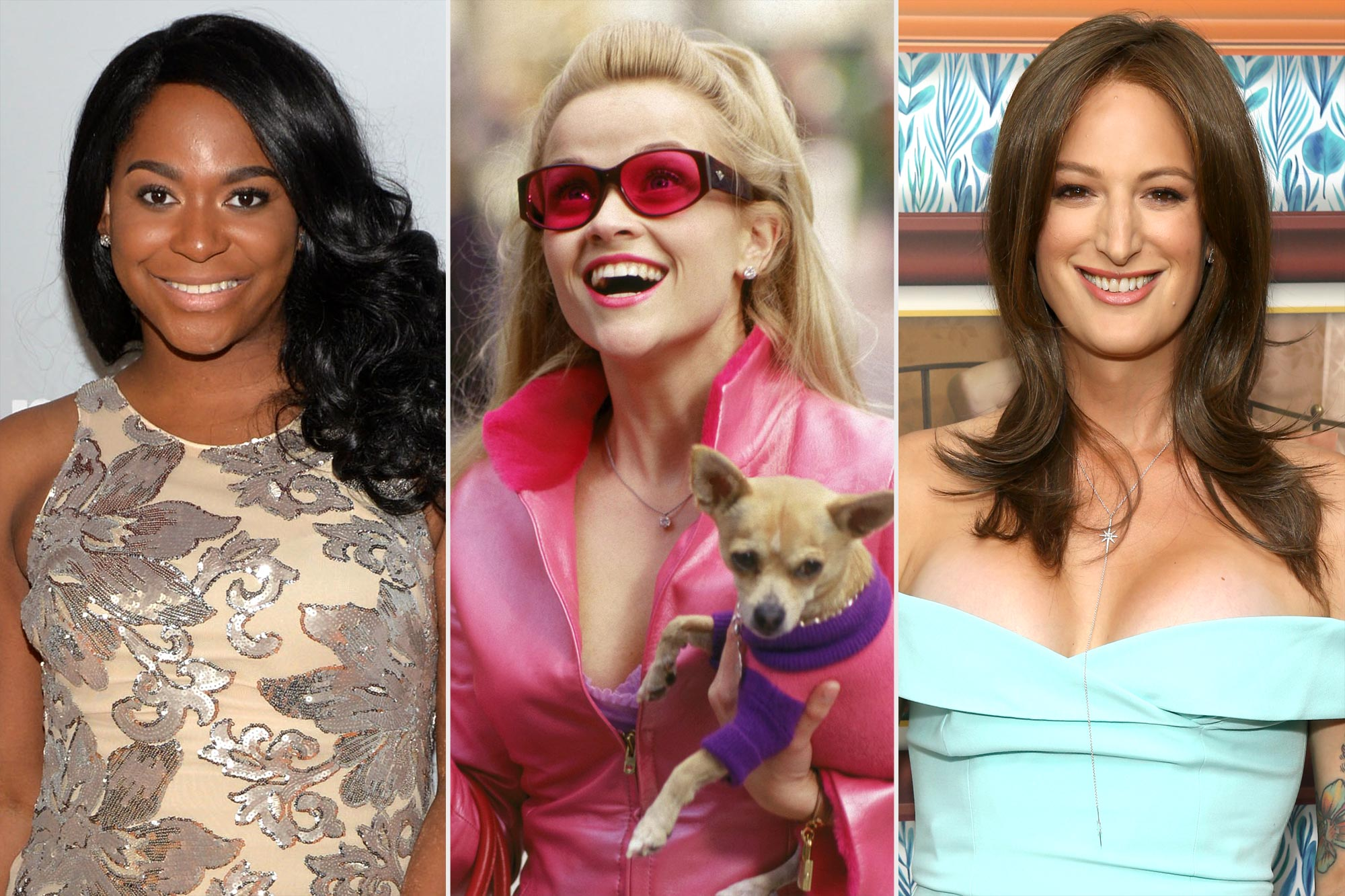 Alexandra Gray, Reese Witherspoon in Legally Blonde, and Jen Richards
