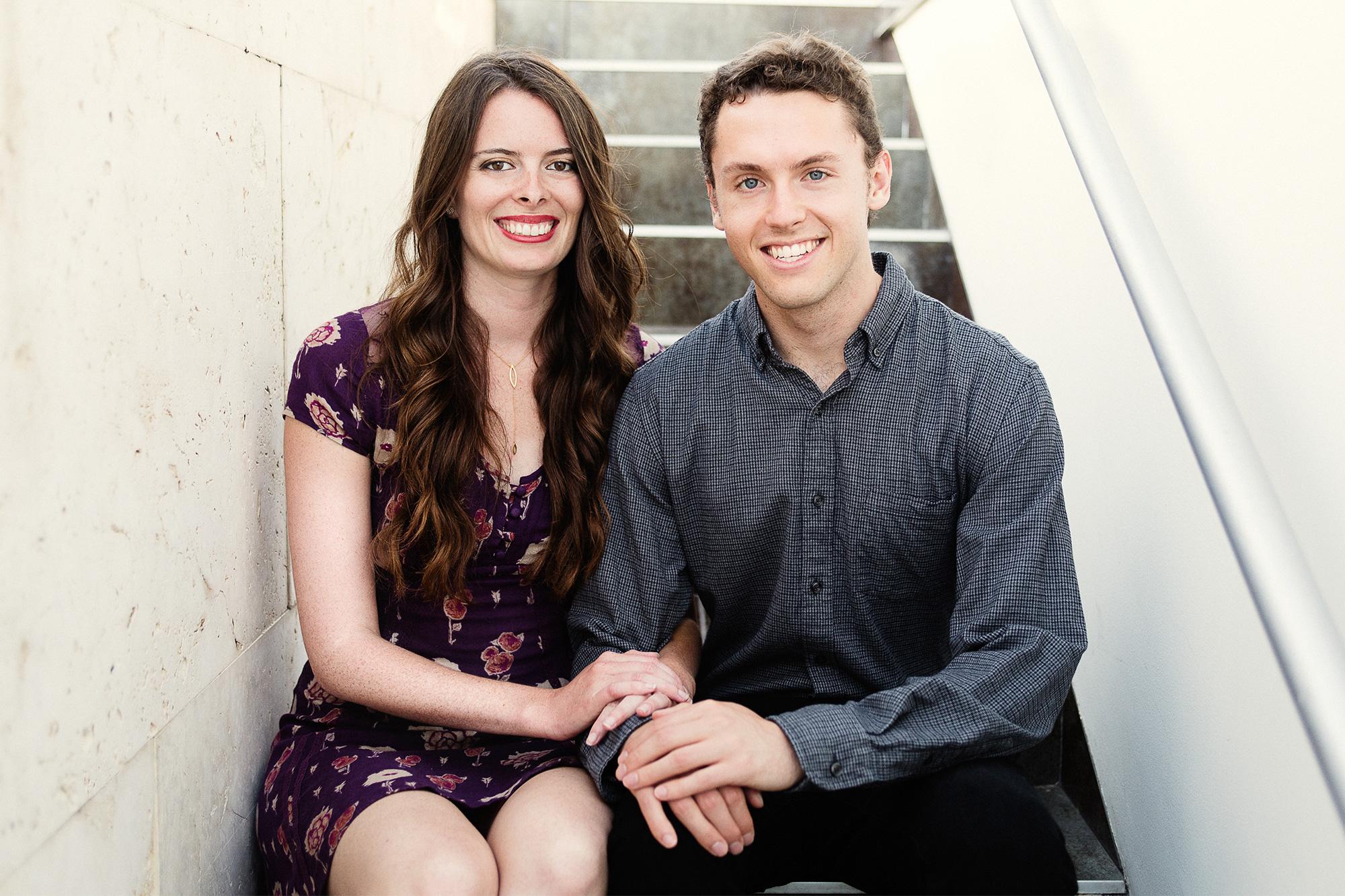 Emily Wibberley and Austin Siegemund-Broka