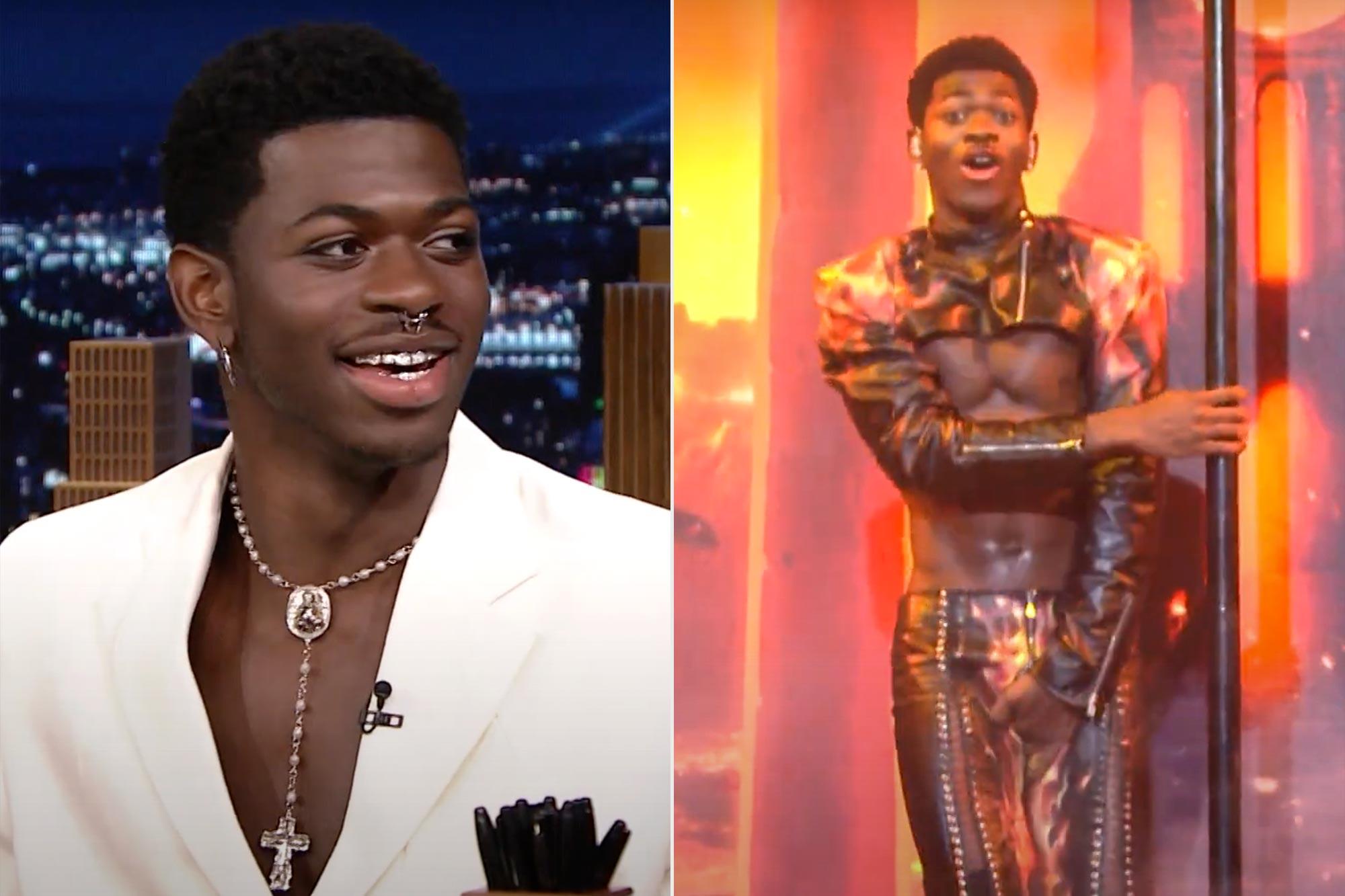 Lil Nas X Details His SNL Wardrobe Malfunction | The Tonight Show Starring Jimmy Fallon