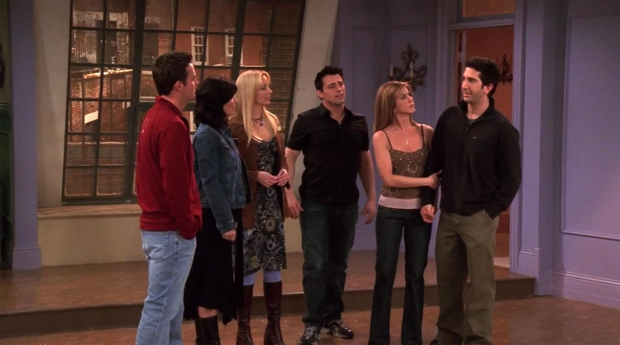 """Friends series finale """"The Last One"""""""