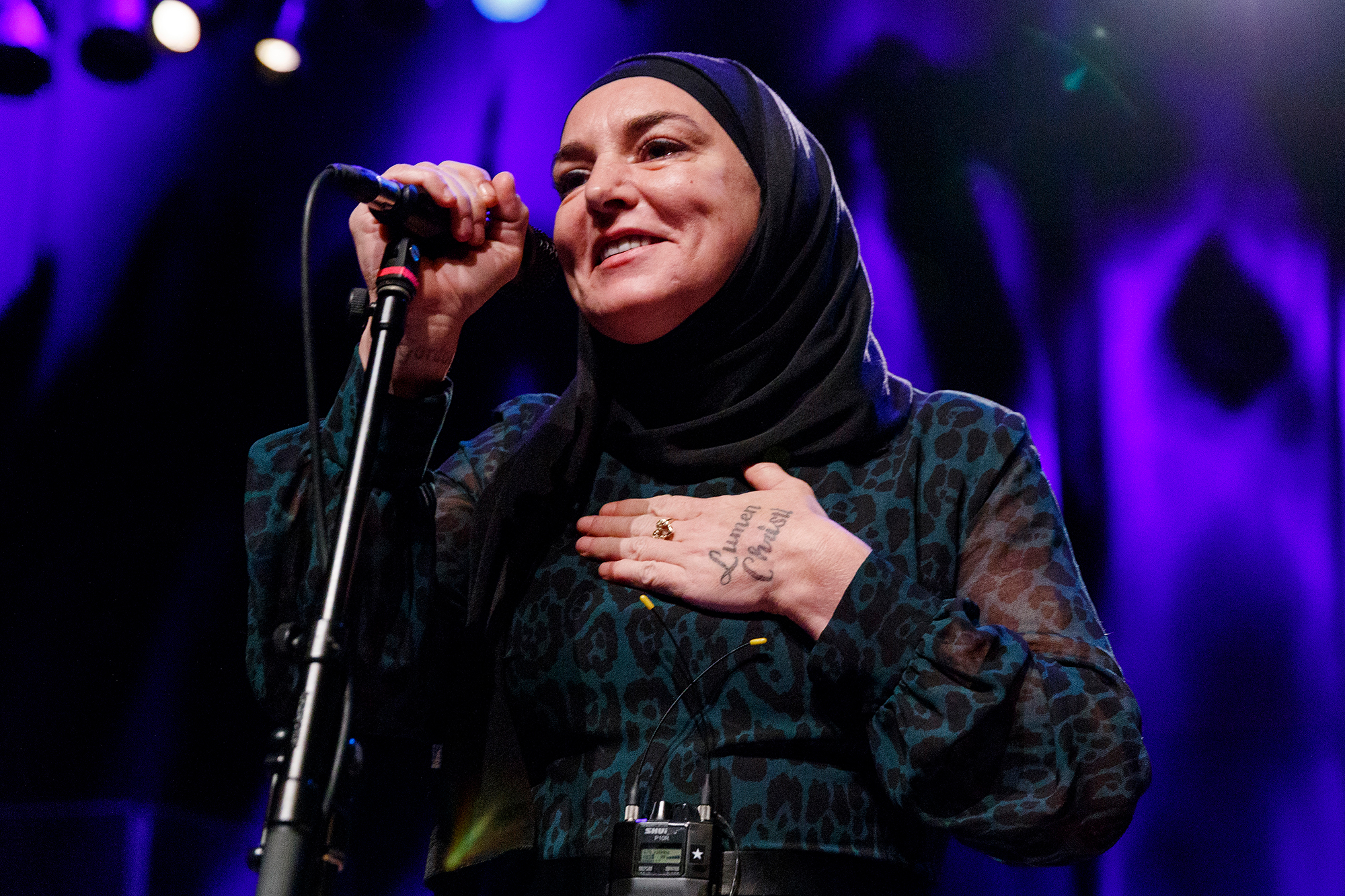 Sinead O'Connor Performs At The Vogue Theatre
