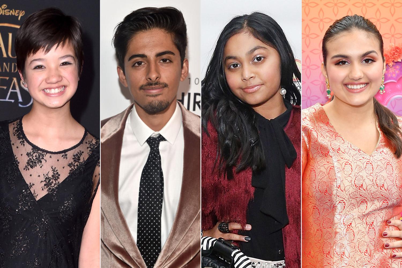 Peyton Elizabeth Lee, Karan Brar, Sway Bhatia, and Leela Ladnier