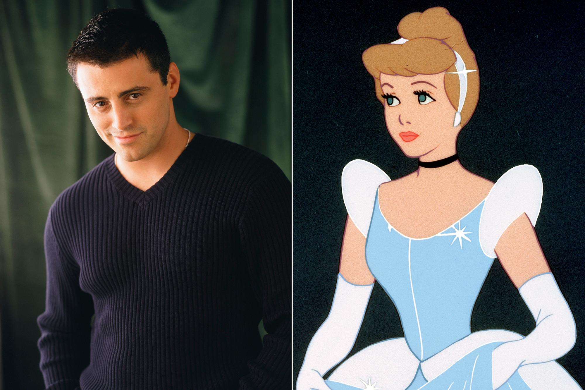 Friends Matt LeBlanc; Cinderella