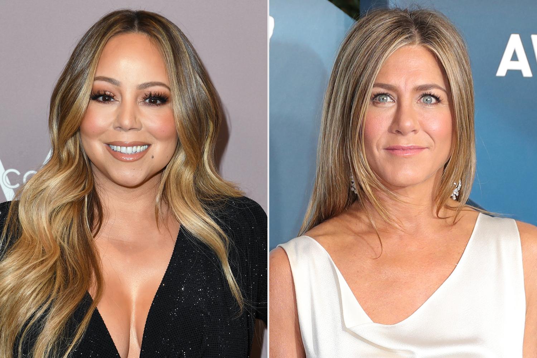 Mariah Carey, Jennifer Aniston