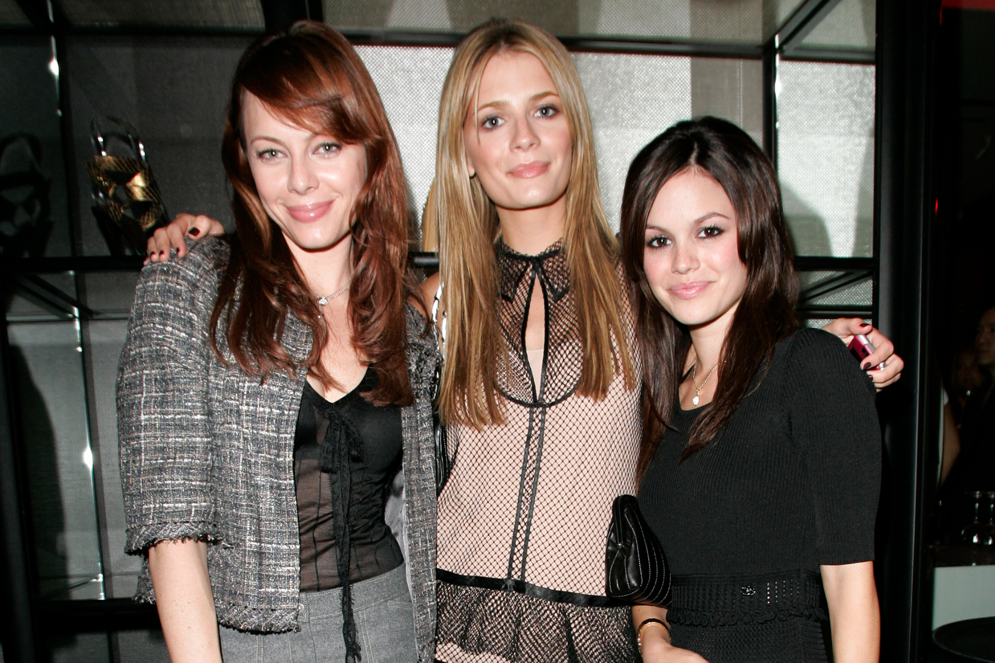 Melinda Clarke, Mischa Barton and Rachel Bilson