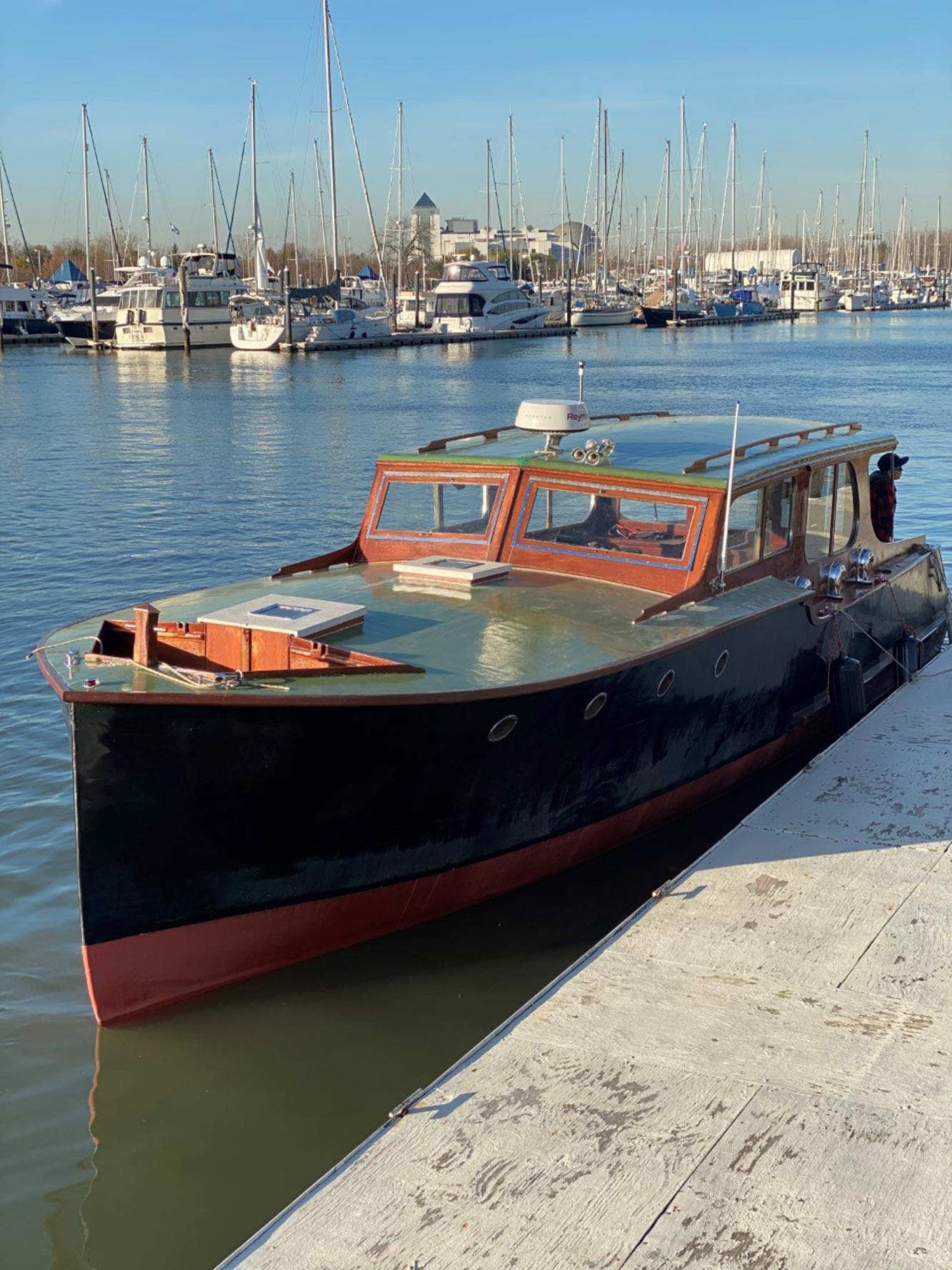 Matthew Rhys is restoring a Hemingway-era boat