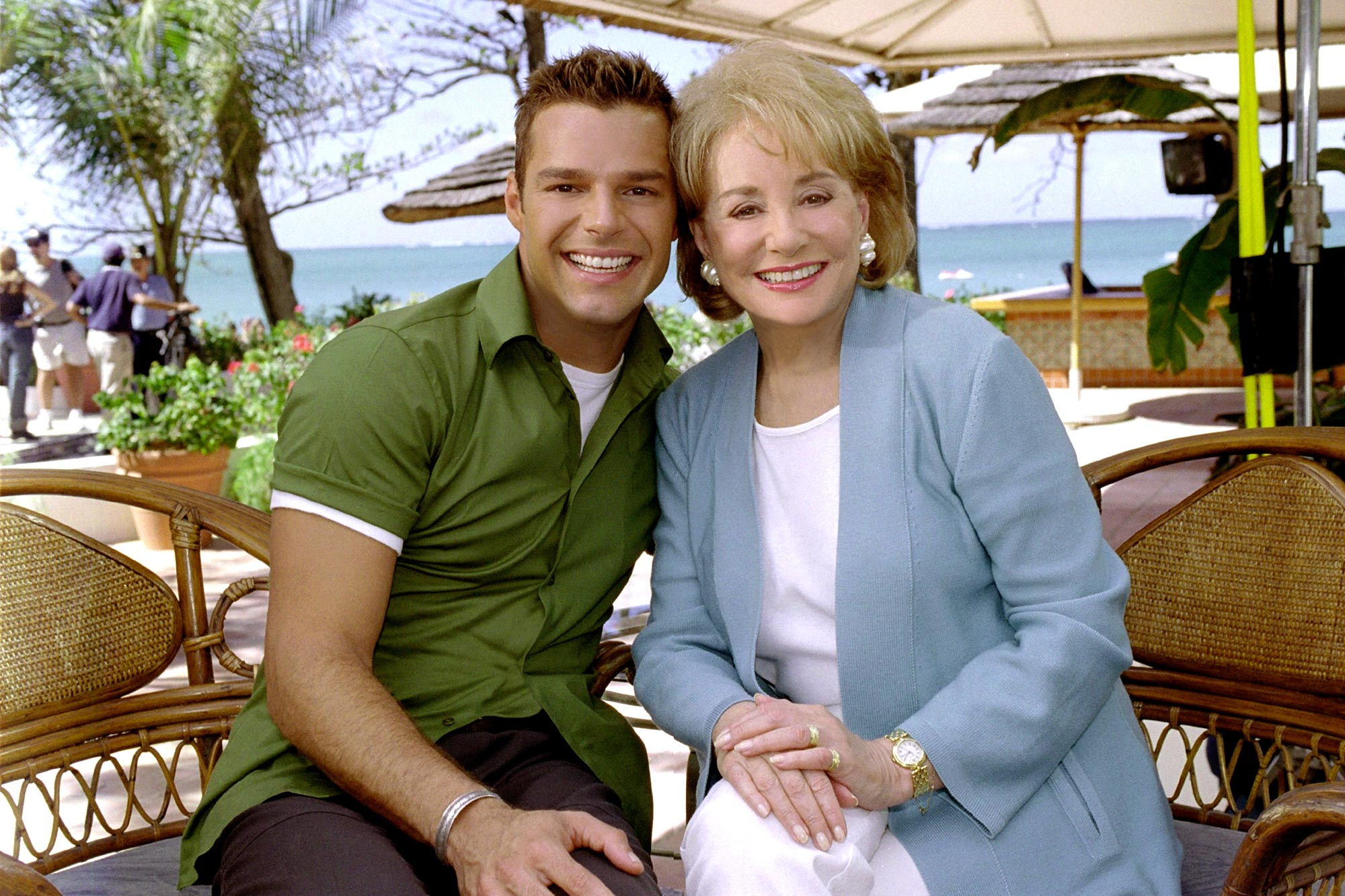 RICKY MARTIN, appearing on THE BARBARA WALTERS SPECIAL