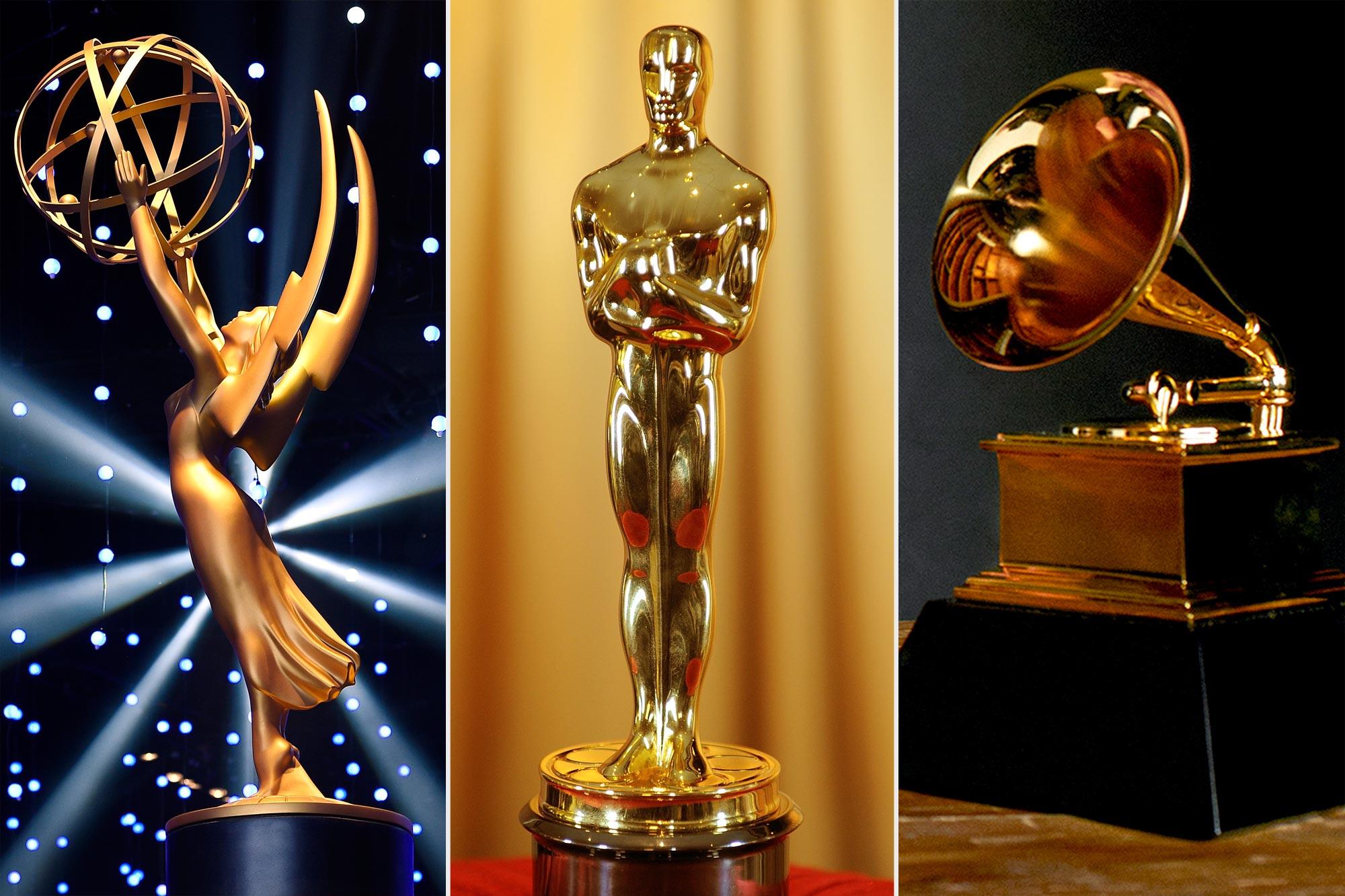 Emmy Awards; Oscar; Grammy Awards