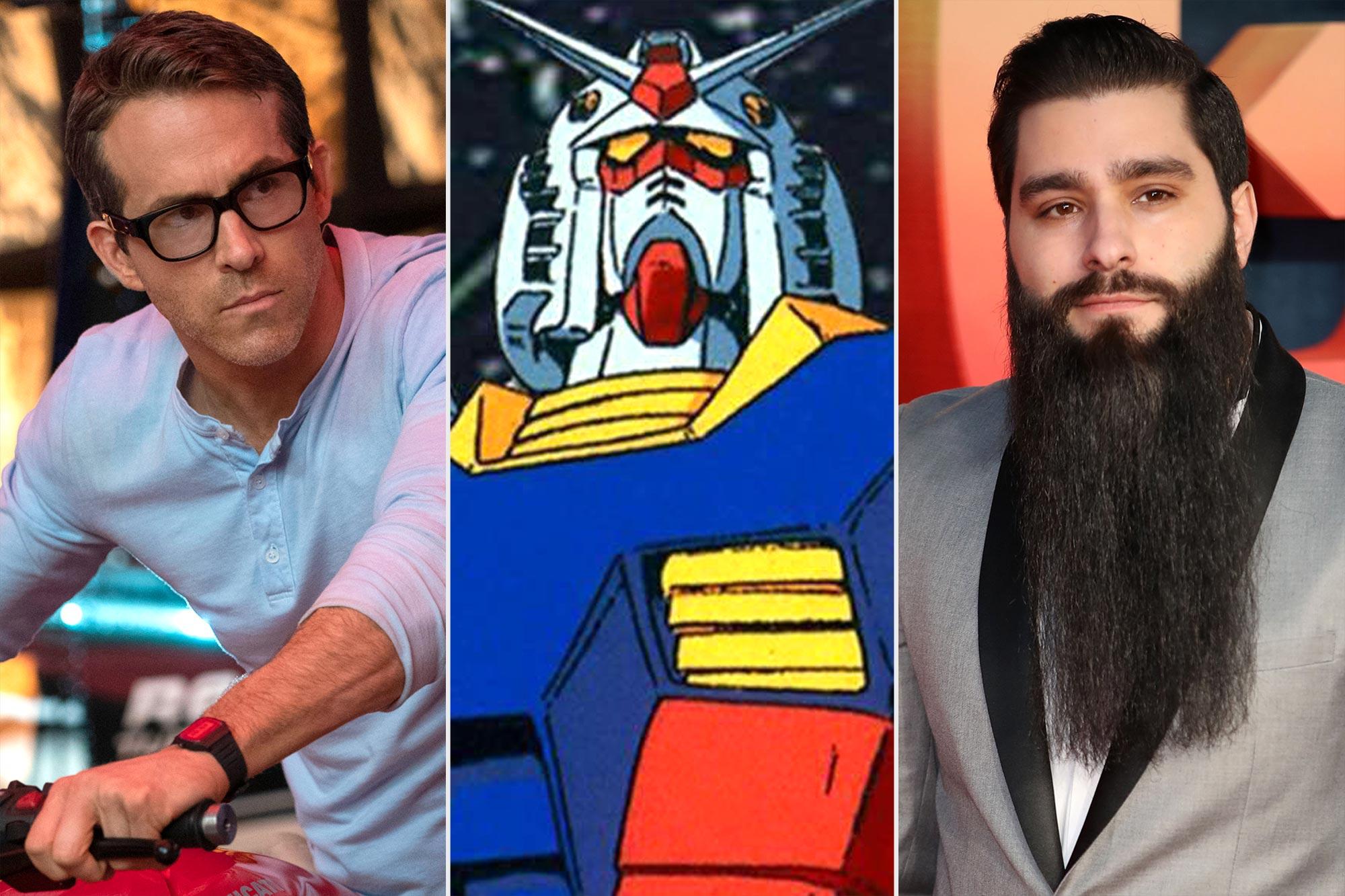 Ryan Reynolds; Gundam; Jordan Vogt-Roberts