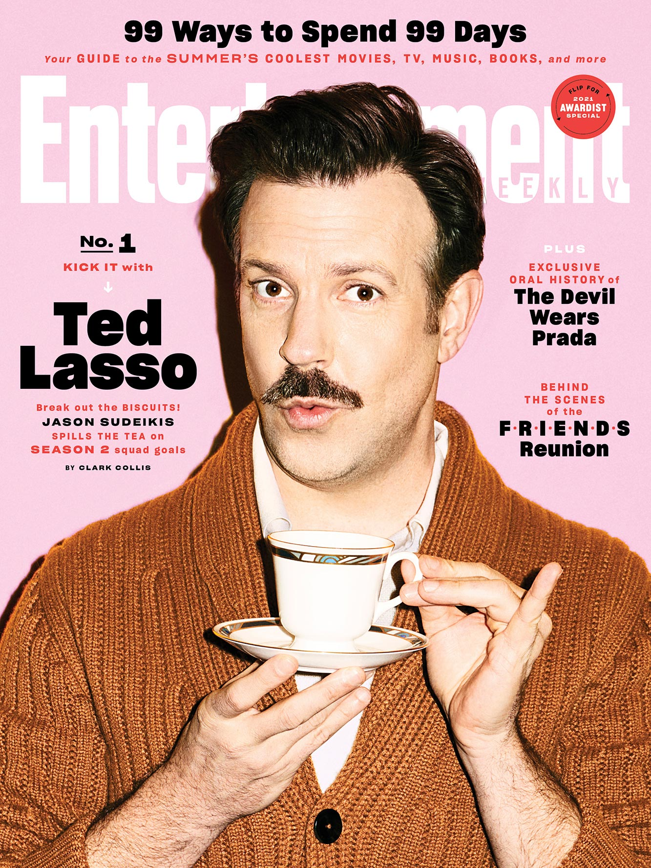 July 2021 EW Cover- Ted Lasso