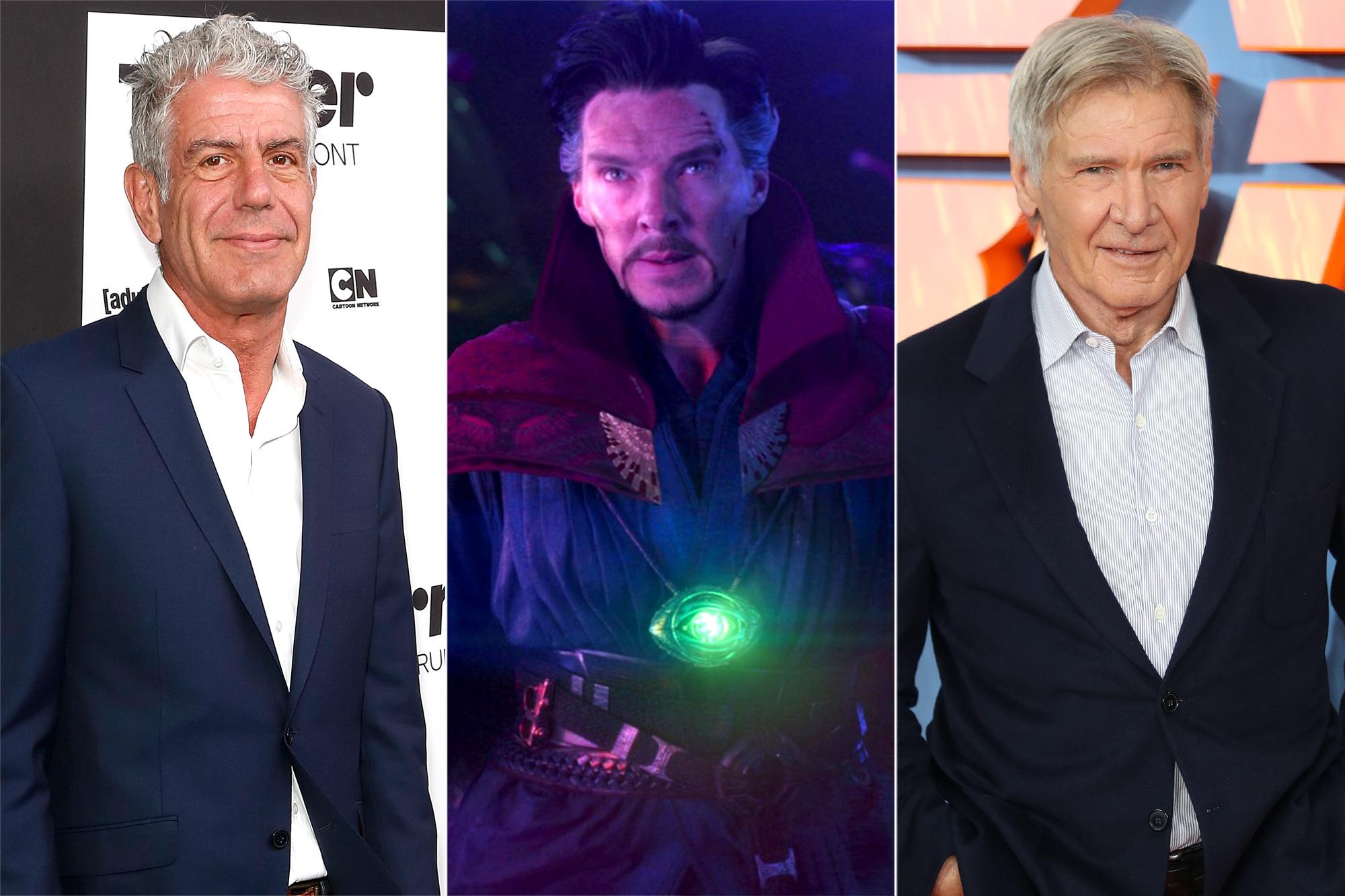 Anthony Bourdain, Doctor Strange, Harrison Ford