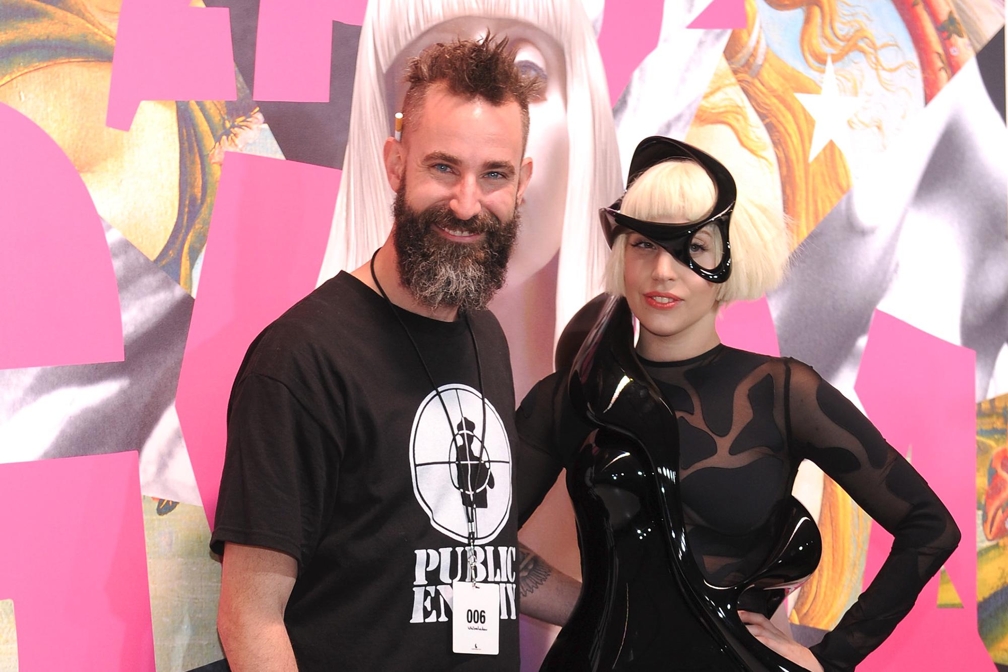 DJ White Shadow and Lady Gaga