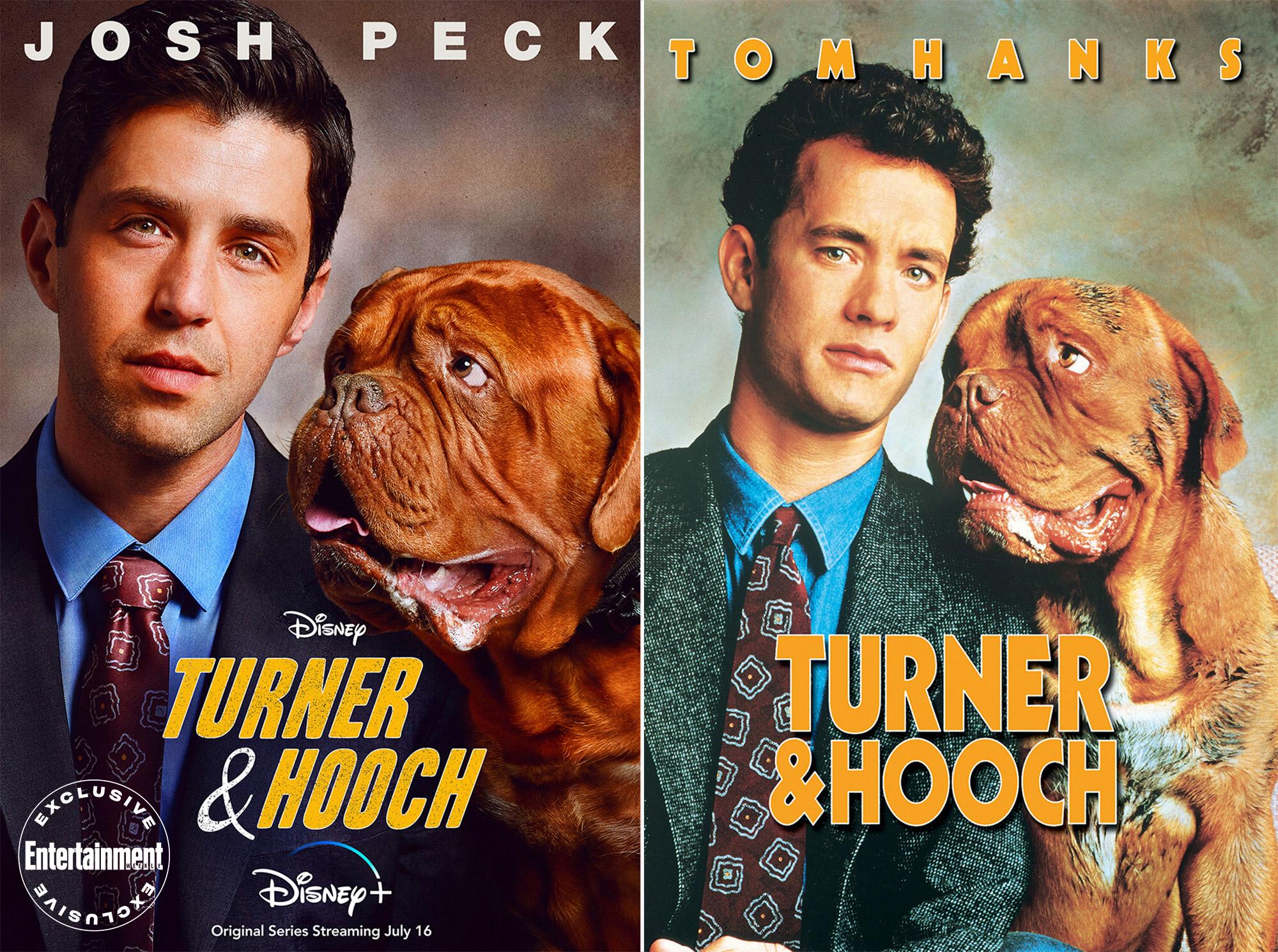 Turner and Hooch key art Josh Peck