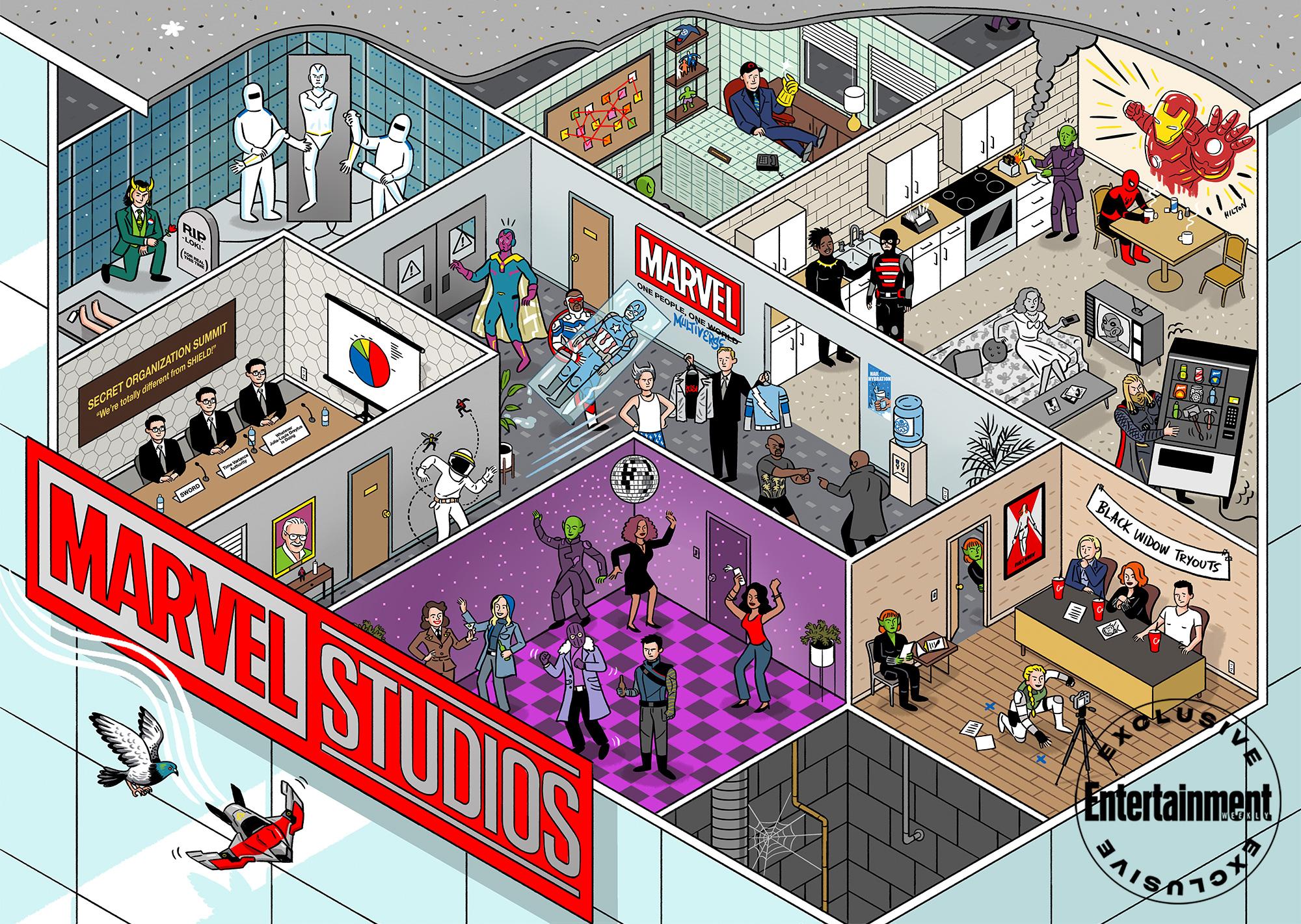 Marvel Studios Illustration