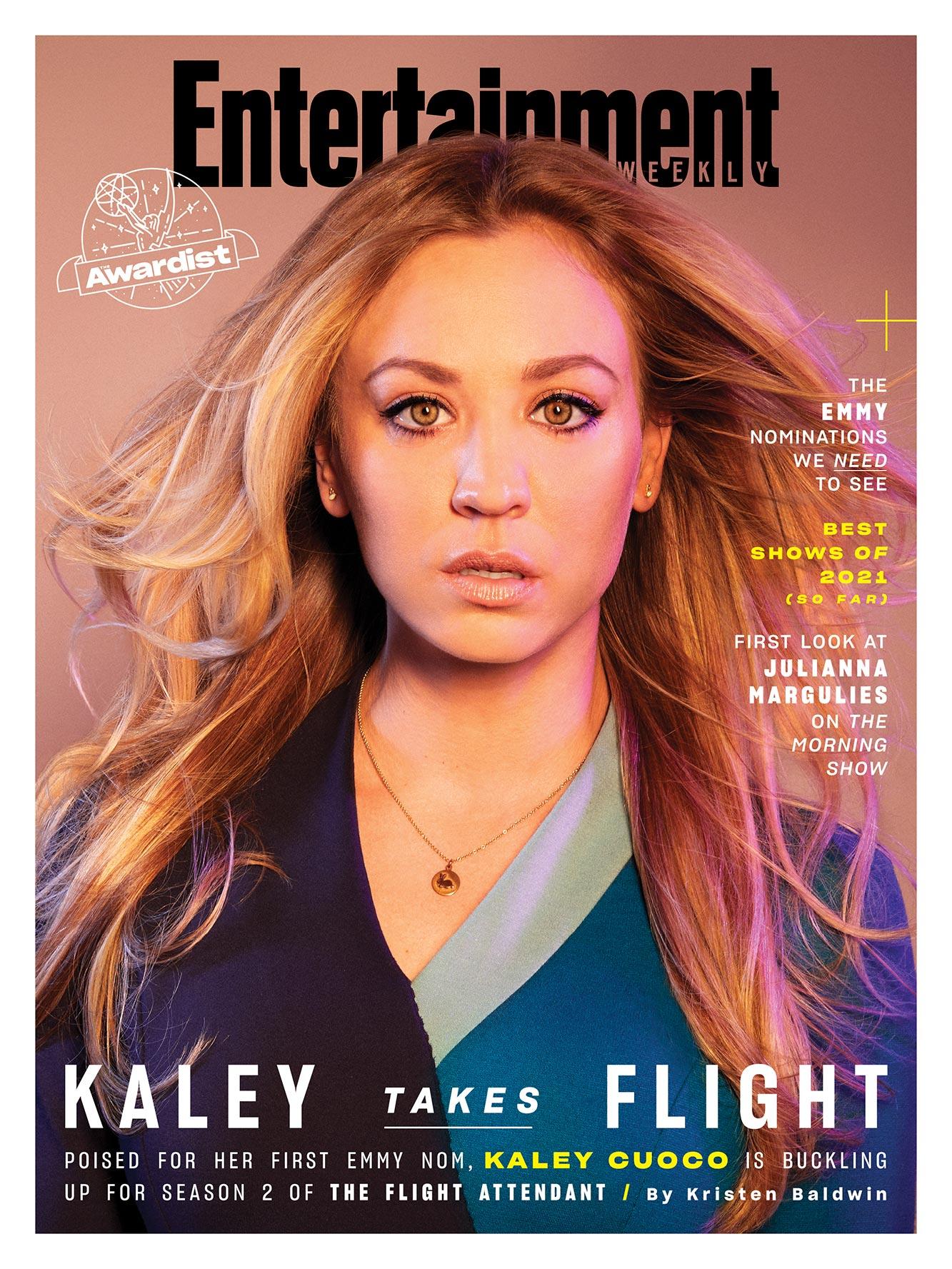 Kaley Cuoco July 2021 Flip EW Cover