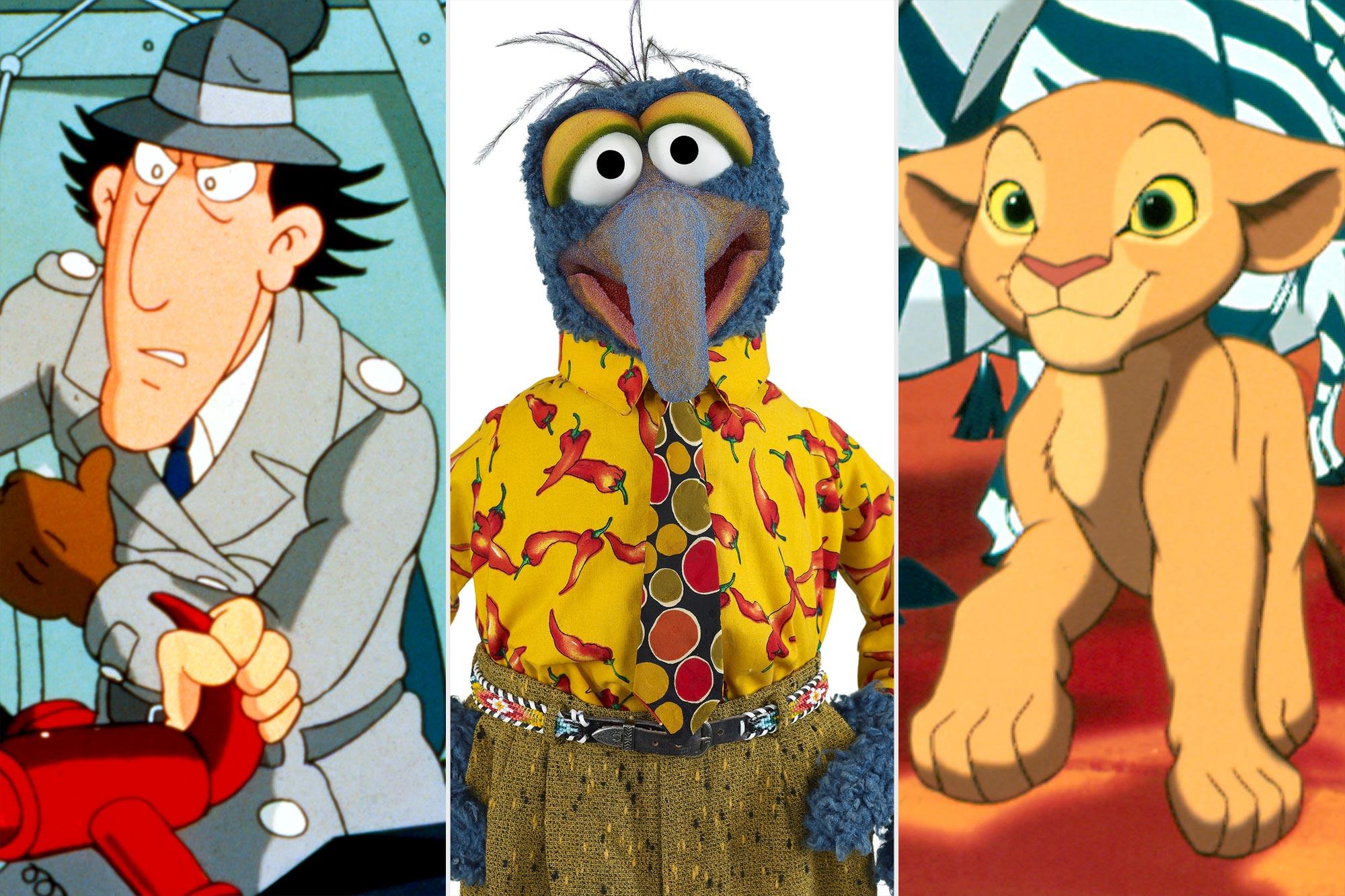 Inspector Gadget; Gonzo; Nala
