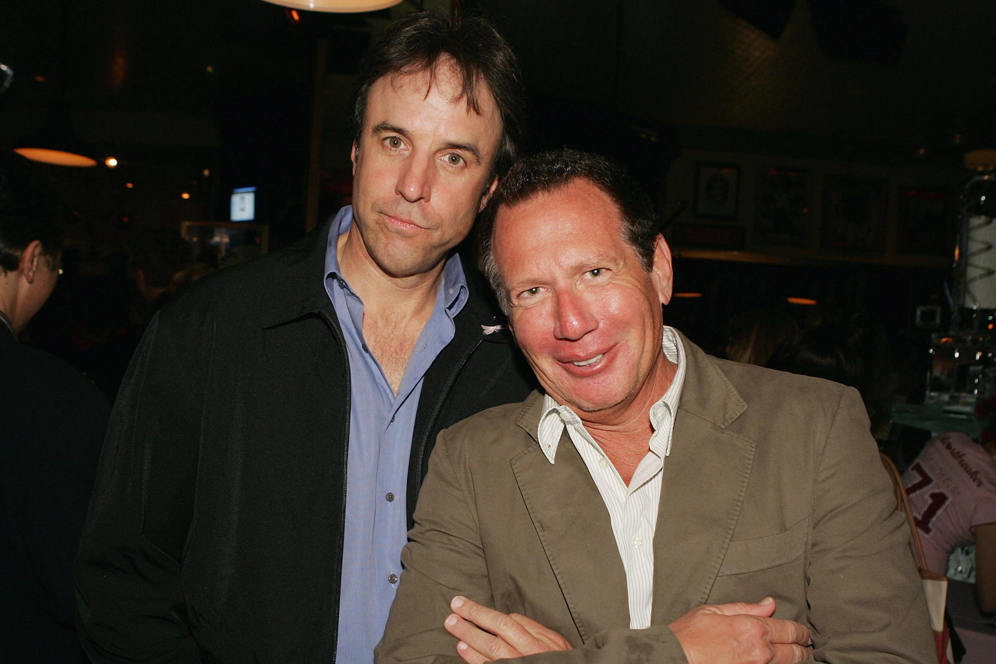 Kevin Nealon and Garry Shandling