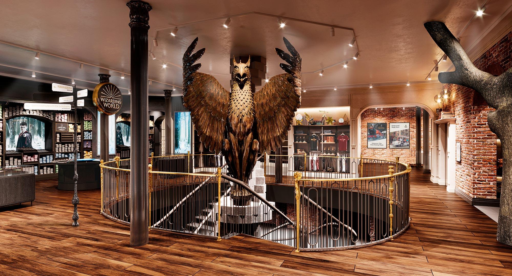 Harry Potter New York Flagship Store Atrium