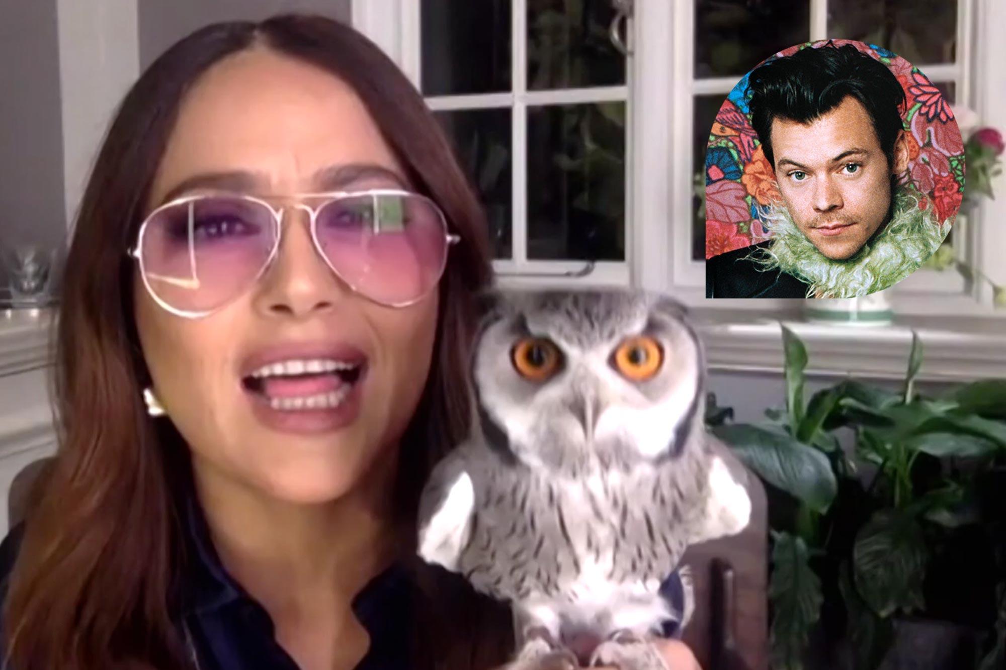 Salma Hayek; Harry Styles