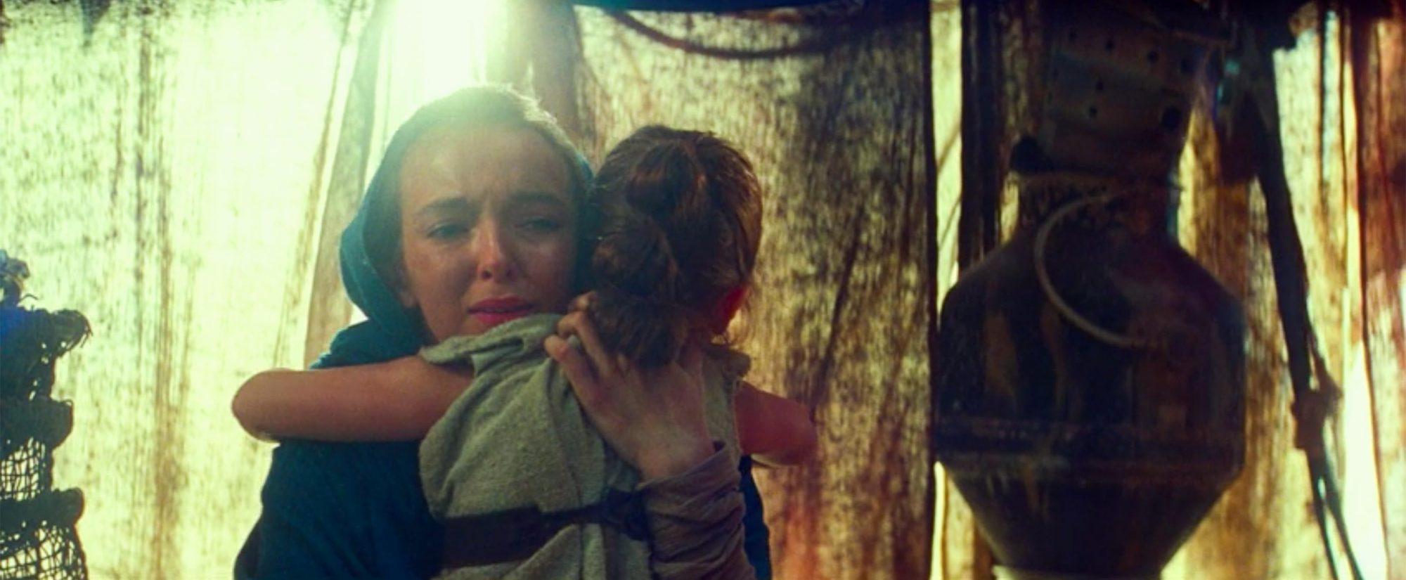 Jodie Comer as Rey's mom in Star Wars The Rise of Skywalker