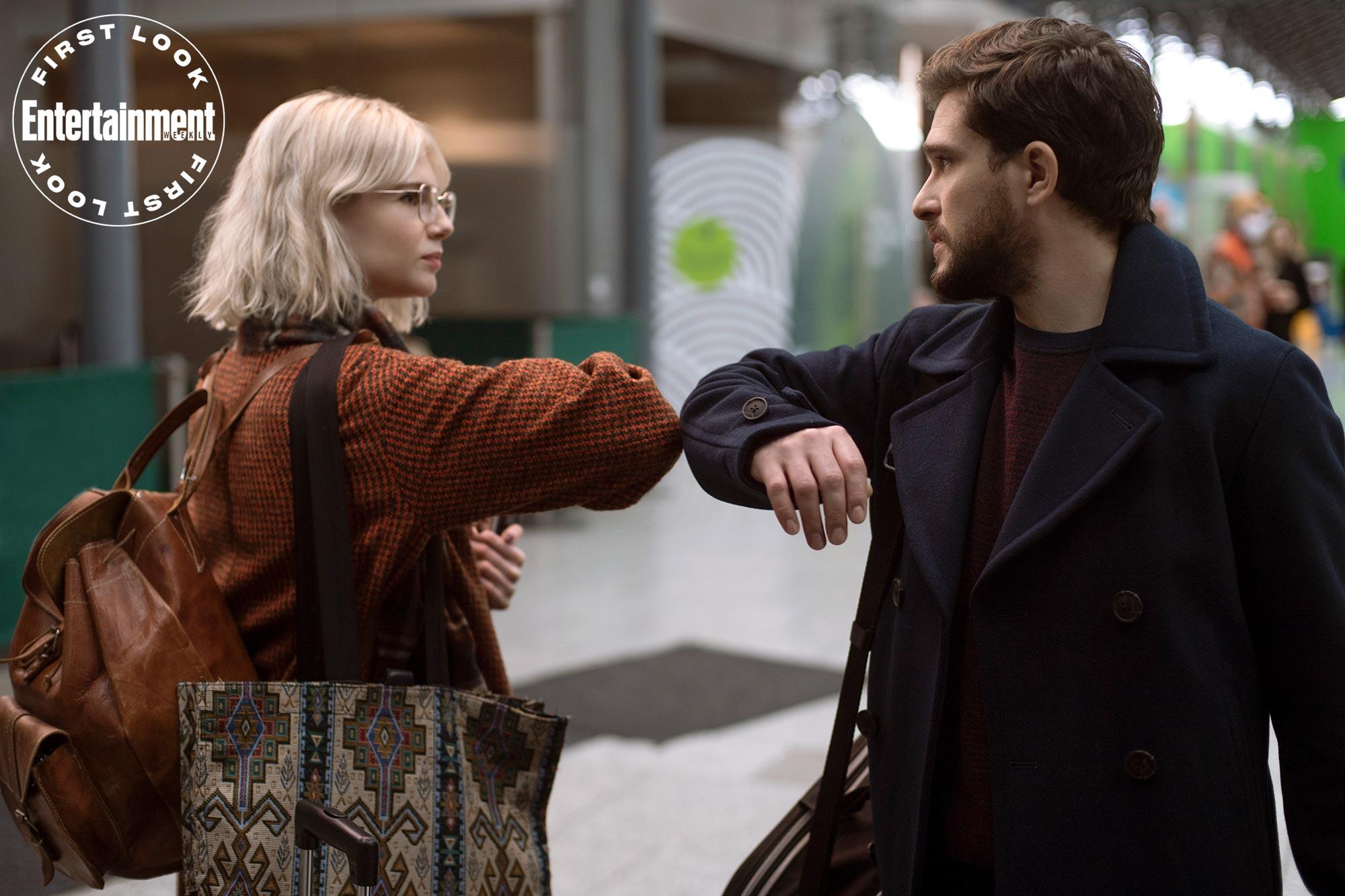 Lucy Boynton and Kit Harington on 'Modern Love'