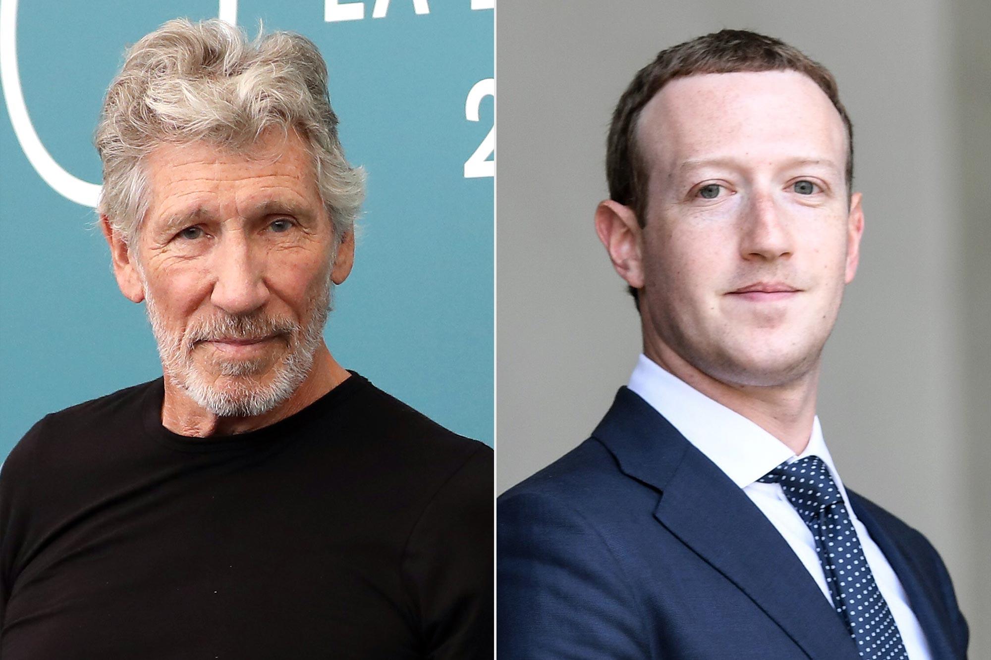 Roger Waters; Mark Zuckerberg